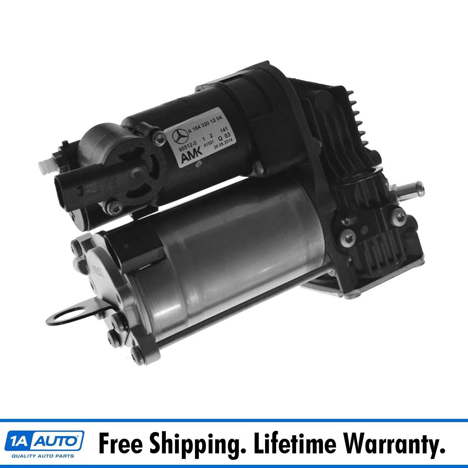 Air ride suspension compressor pump for mercedes benz ebay for Air suspension compressor mercedes benz