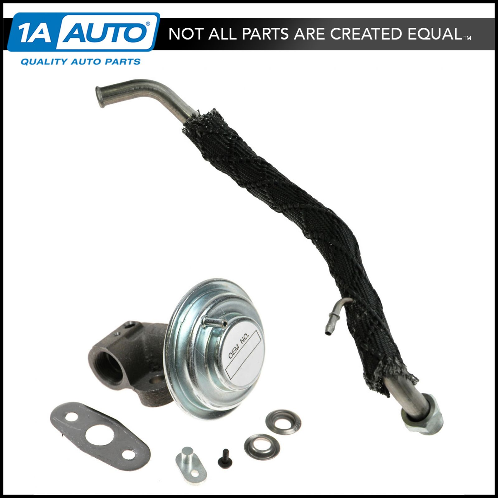 Emissions egr tube and valve for ford mercury