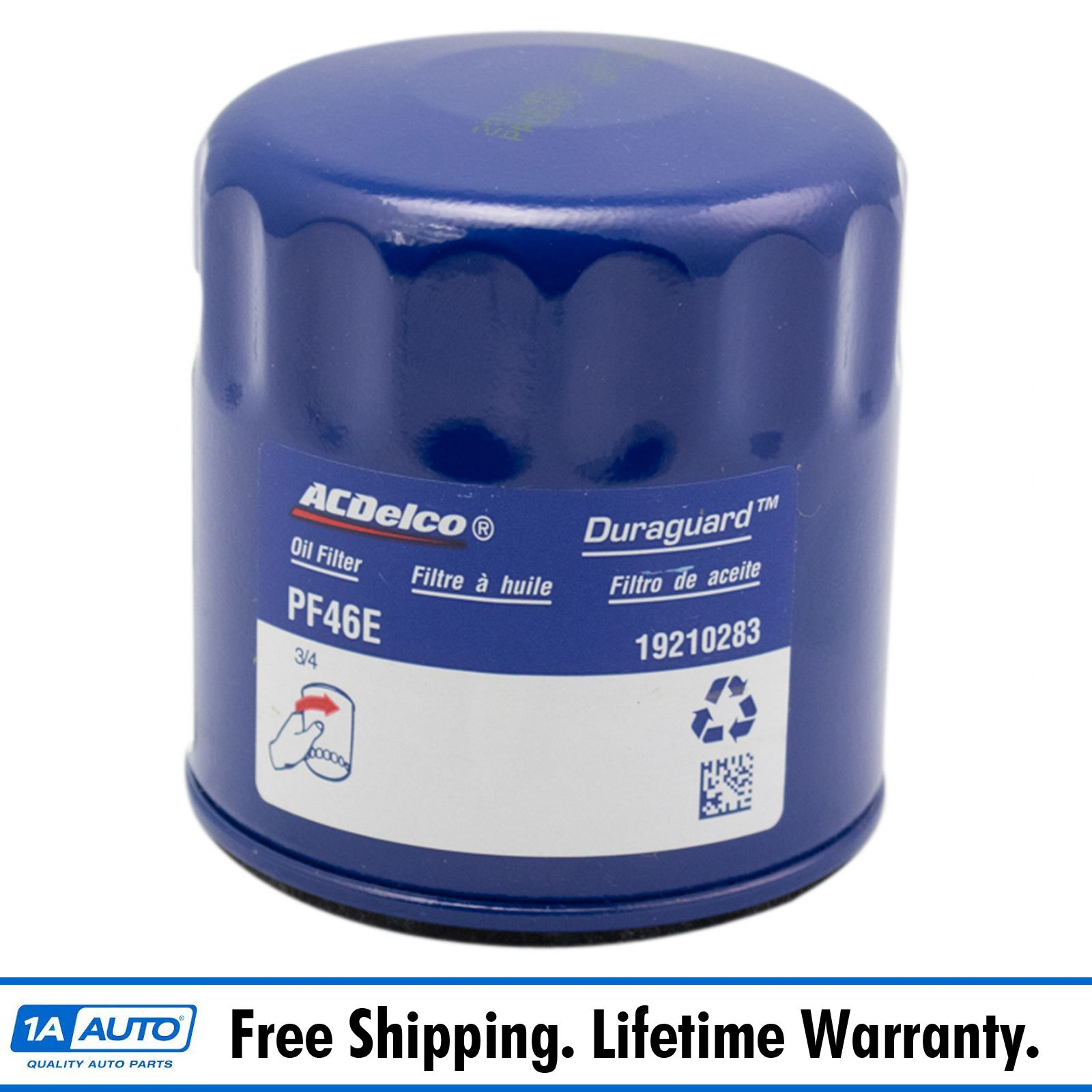 Ac Delco Pf46 Engine Oil Filter For Chevy Gmc Cadillac