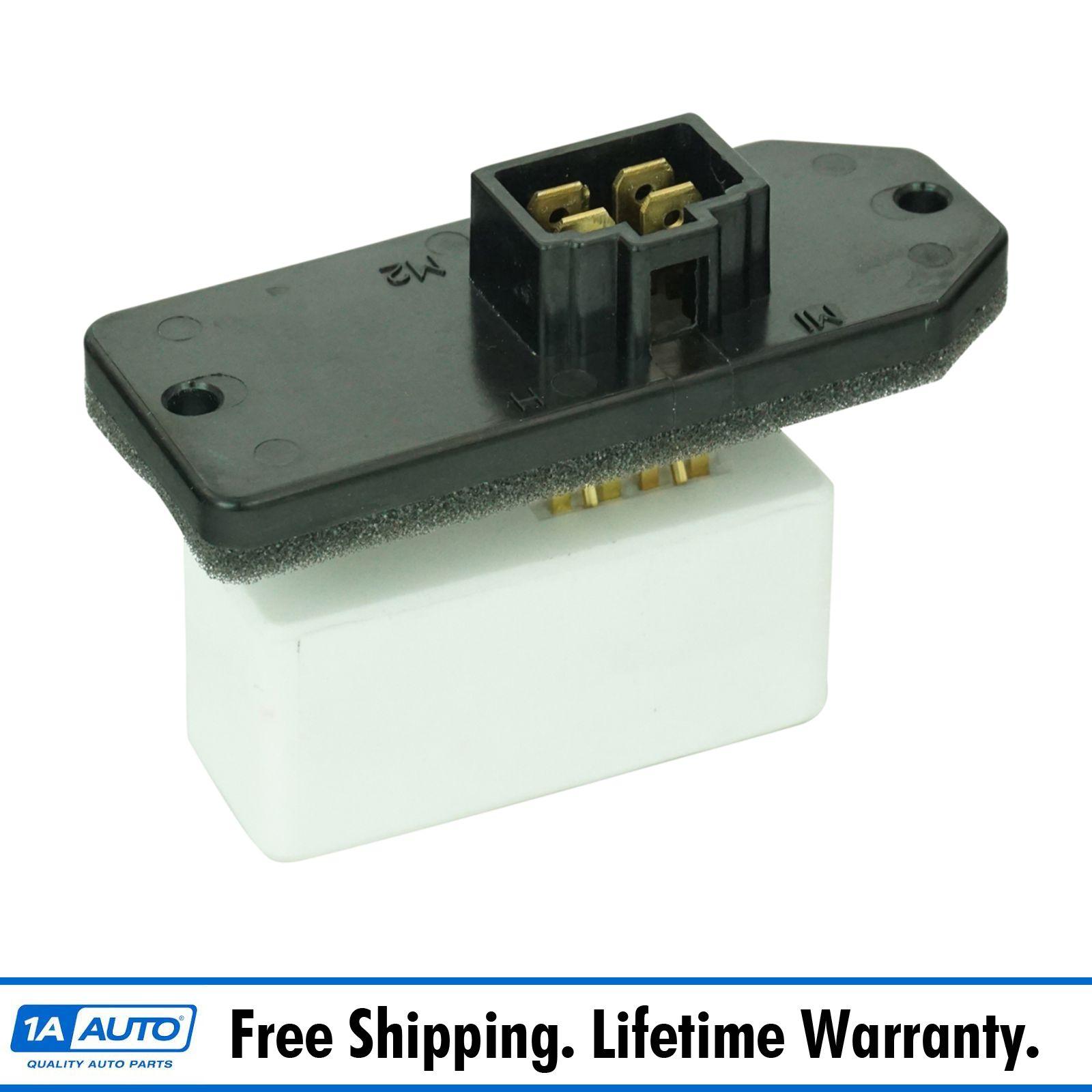 Heater blower motor resistor for jeep grand cherokee dodge for Dodge ram blower motor