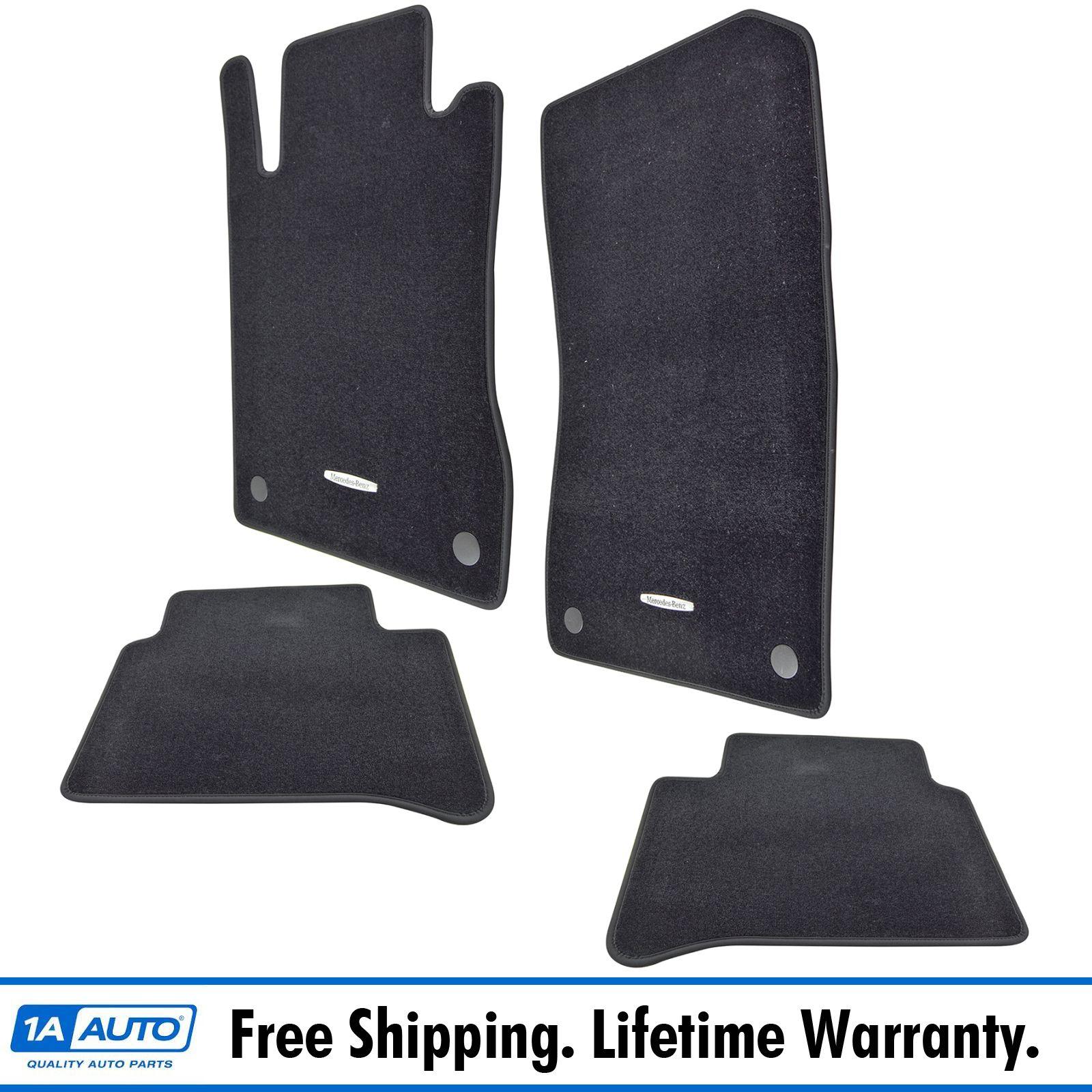 Floor mats mercedes - Oem B66294131 Floor Mat Kit Black Carpet Kit Set Of 4 For Mb Mercedes Benz New