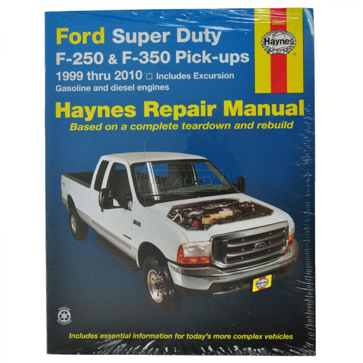 Ford Service Manuals: Haynes Repair Service Manual For 99 06 Ford Excursion