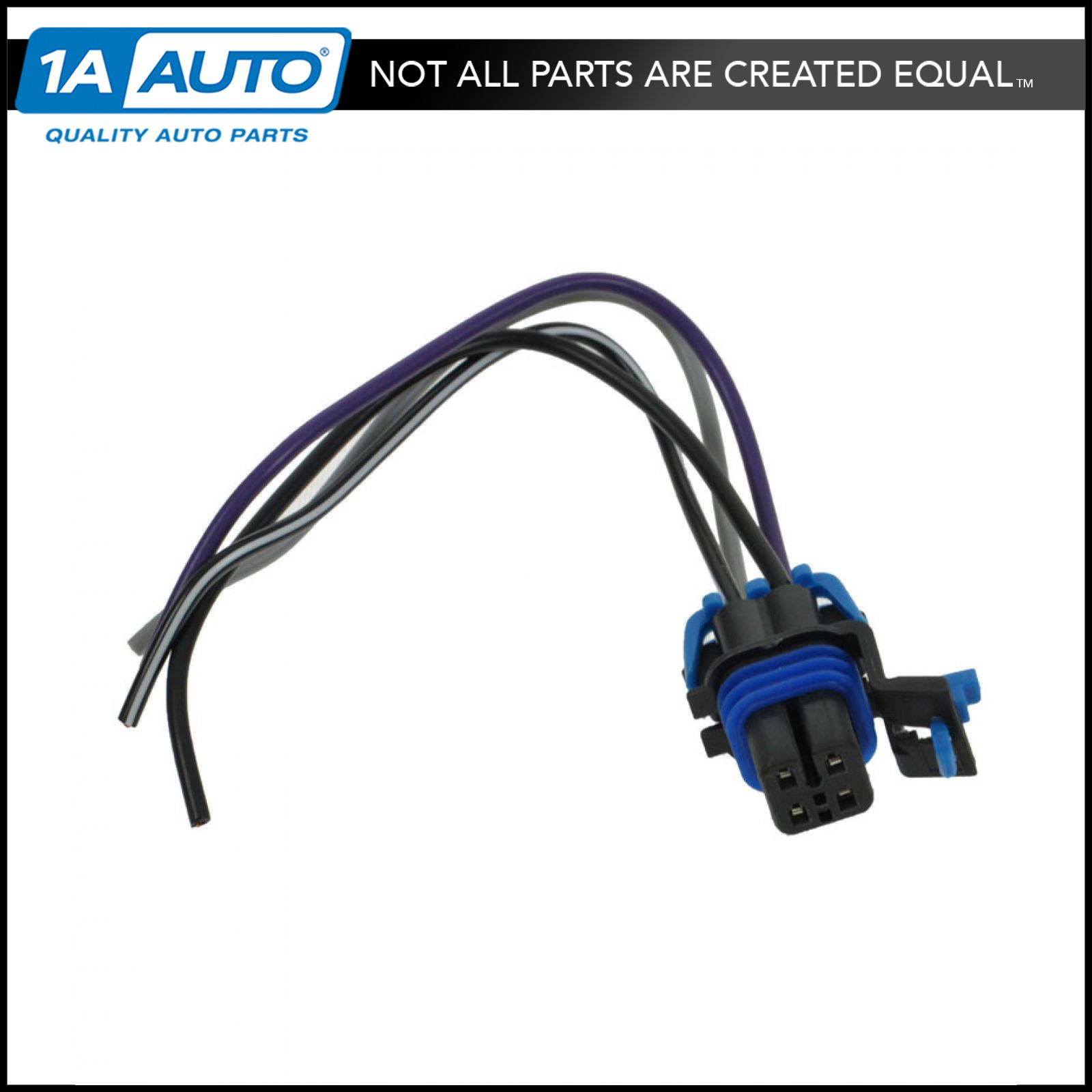 fuel wiring harness with square connector 4 wire pigtail for chevy gm ebay