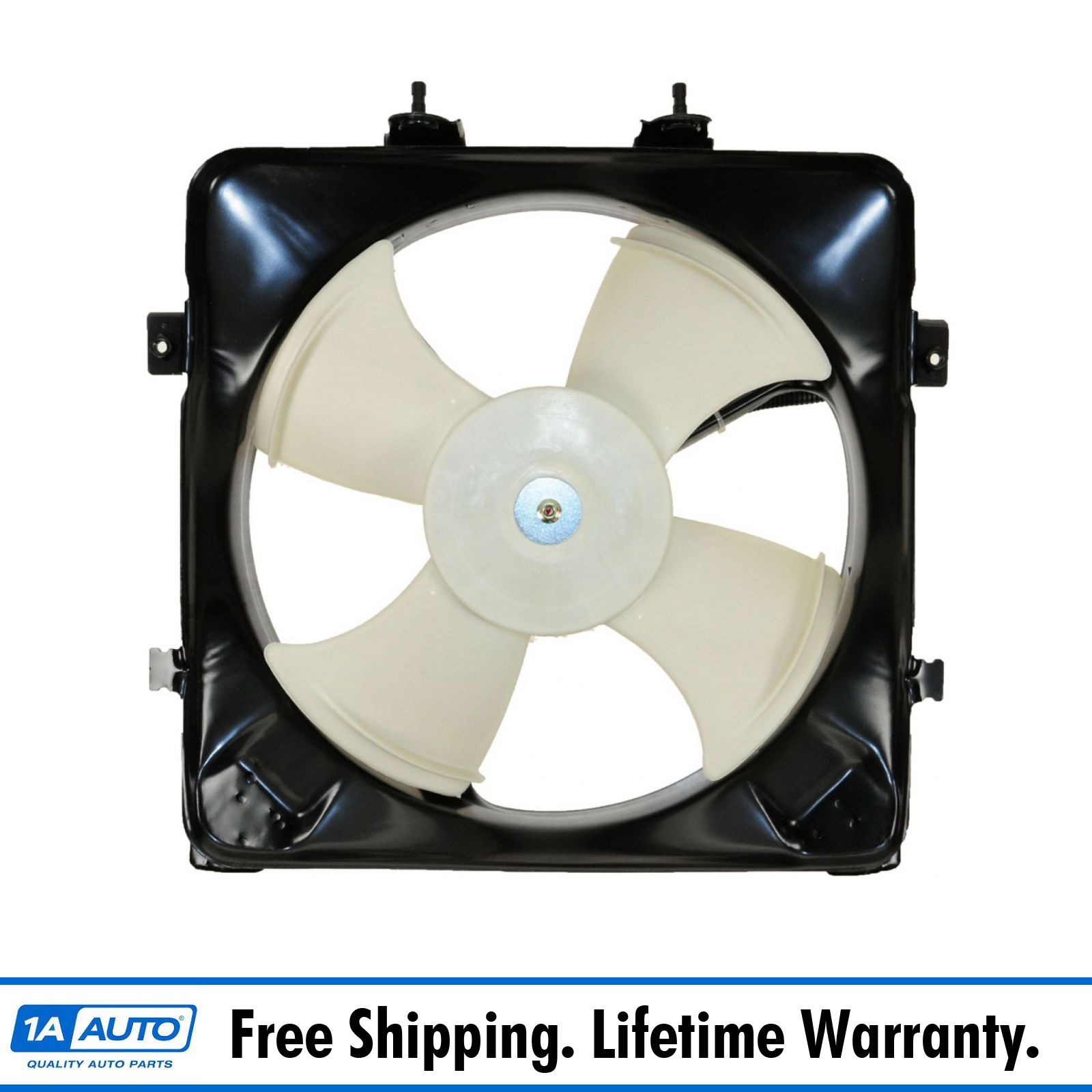 A//C Condenser Fan Assembly-Air Conditioning Fan Assembly fits 96-98 Civic 1.6L