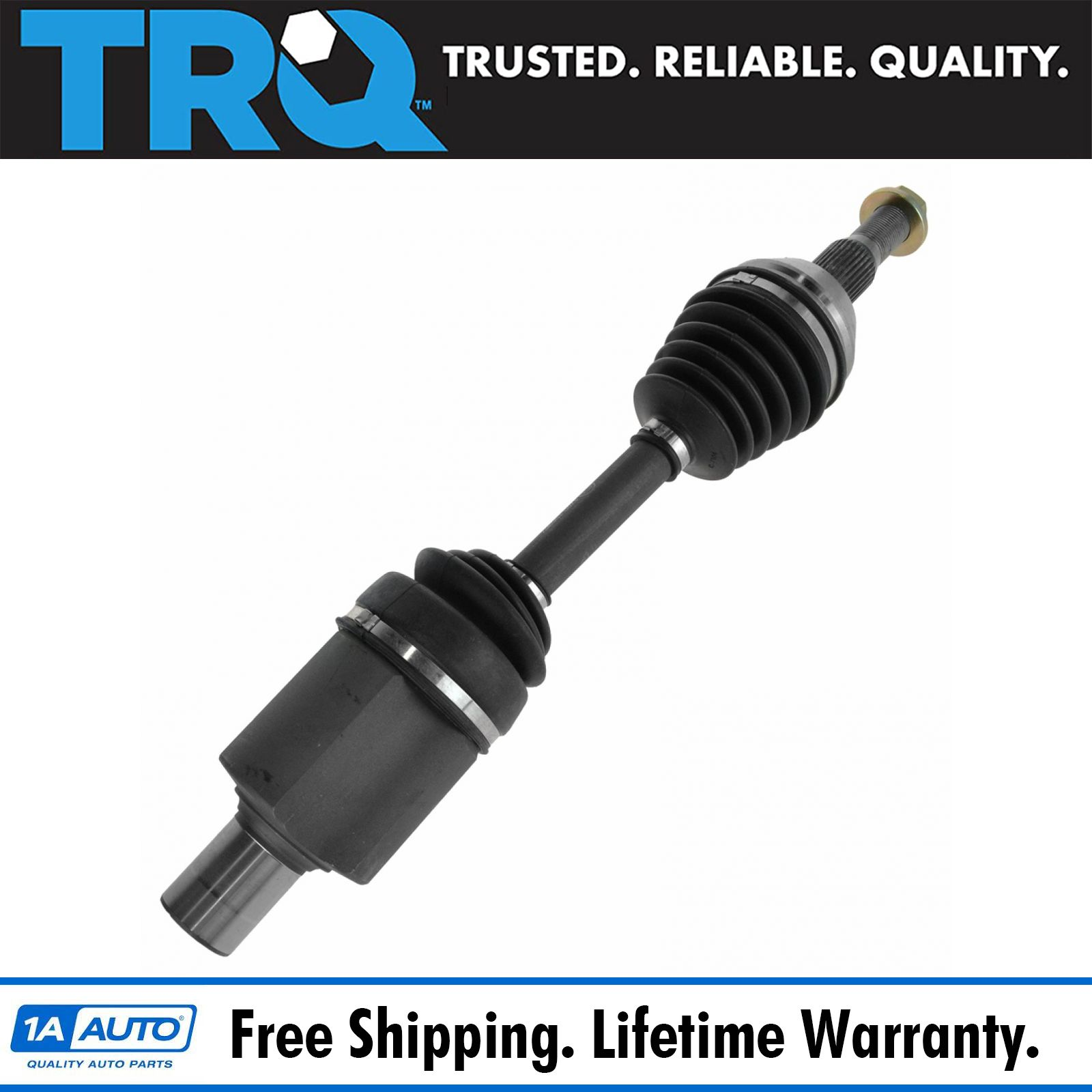 Trq New Cv Joint Axle Assembly Front Lh Or Rh For Lucerne Dts Aurora 1978 Cadillac Deville Rockauto 1aacv00155