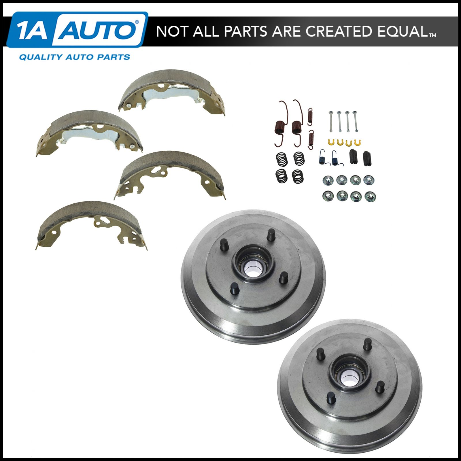Rear Drum Brake Hardware Kit Set LH RH for Ford Mercury Hyundai New