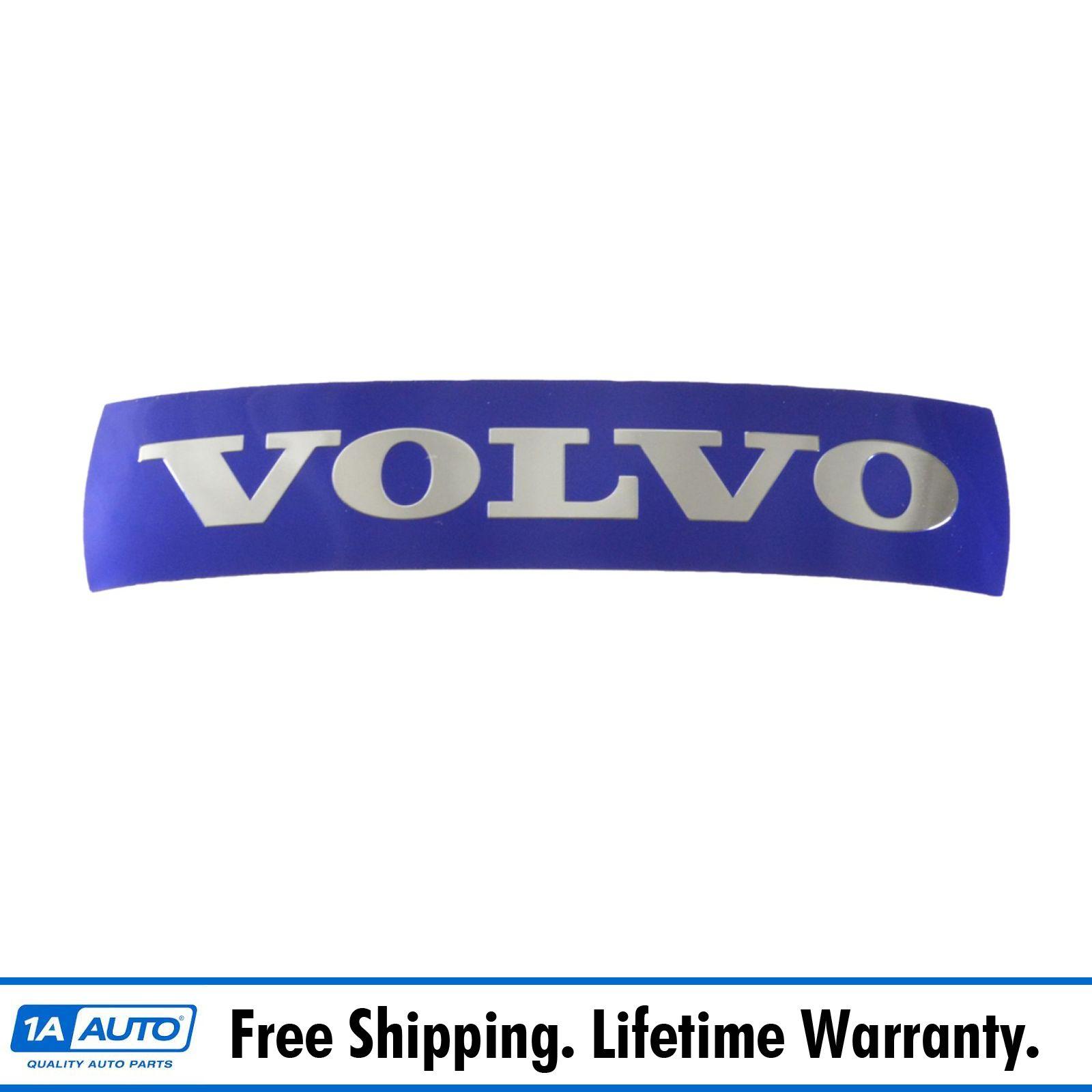 Genuine Volvo 31214625 Front Radiator Grille Blue Emblem