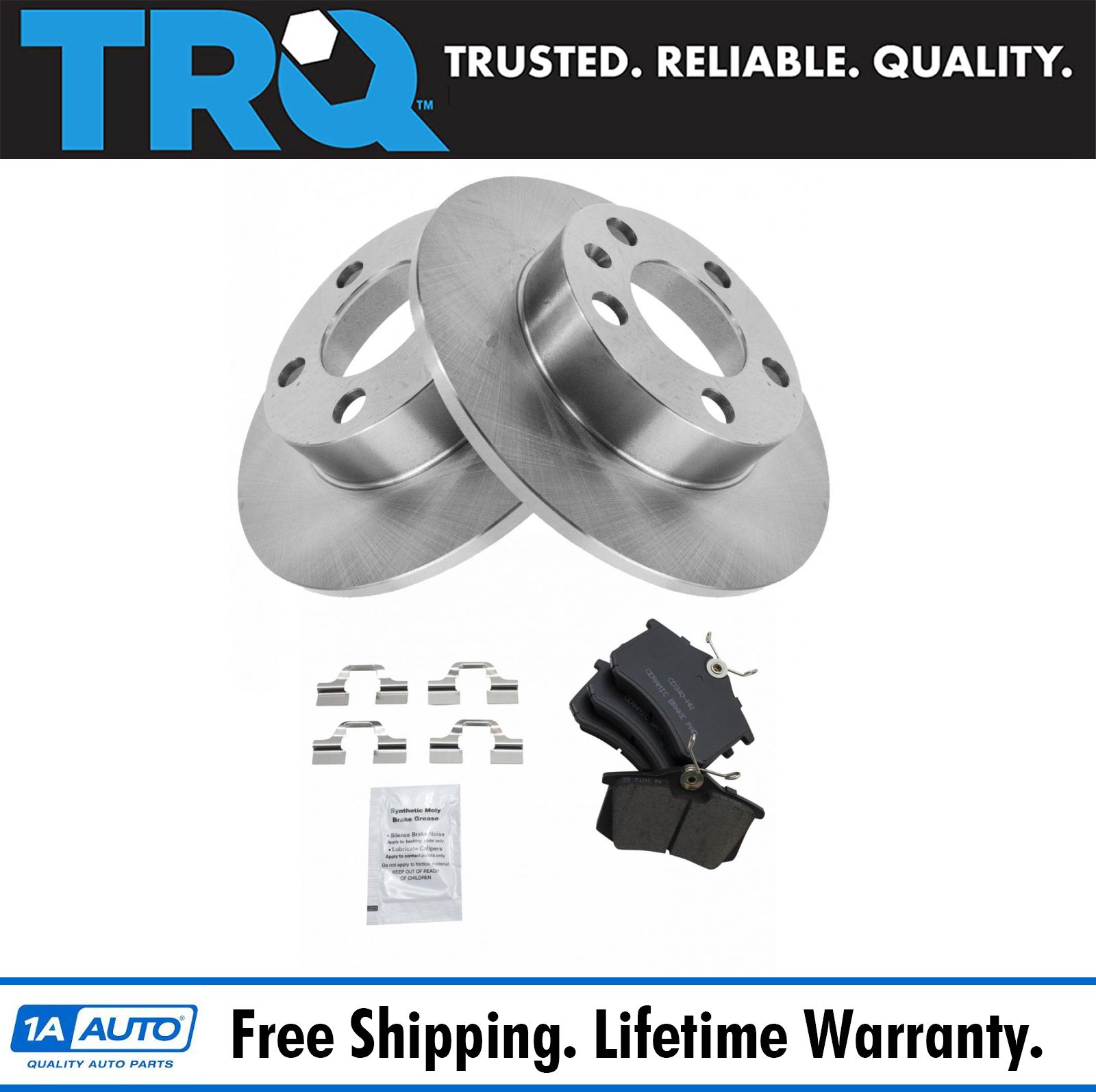 Front and Rear Premium Quality Ceramic Brake Pads Kit VTDC000159