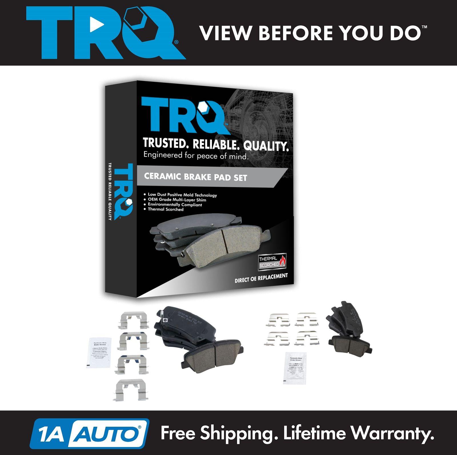 Details About Premium Posi Ceramic Brake Pad Front Rear Kit Set For Hyundai Elantra