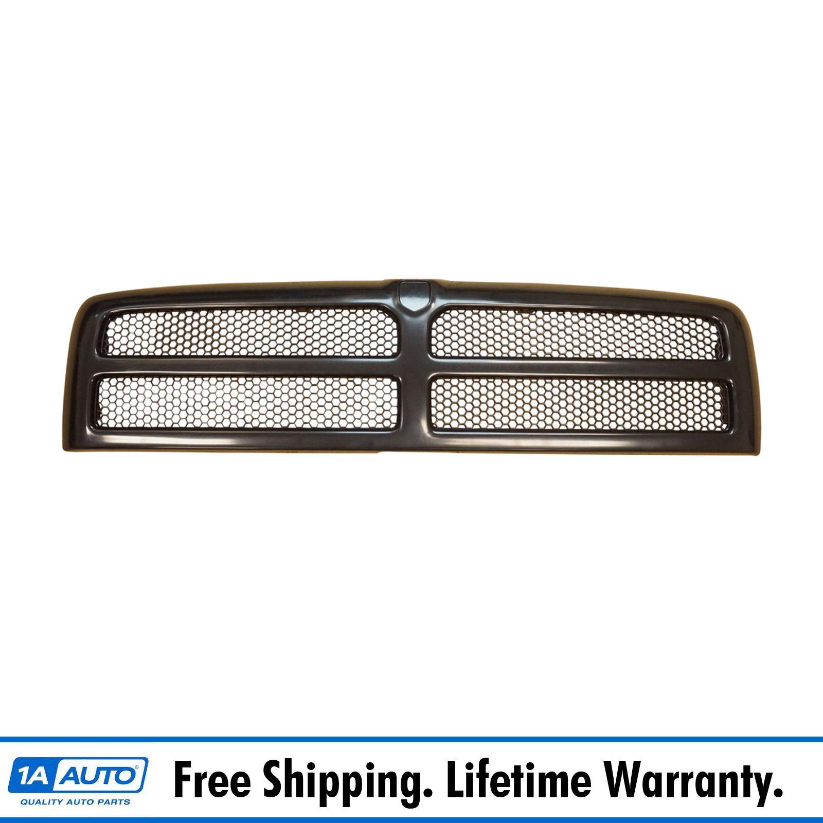grille grill black front for dodge ram 1500 2500 3500 pickup truck. Black Bedroom Furniture Sets. Home Design Ideas