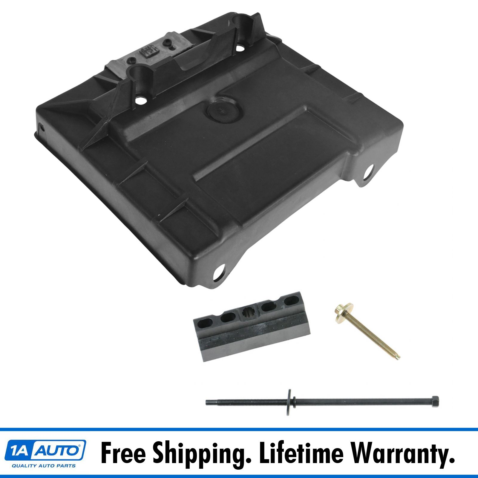 Hold Down Clamp /& Mounting Hardware Kit 1979-1986 Ford Mustang Battery Tray