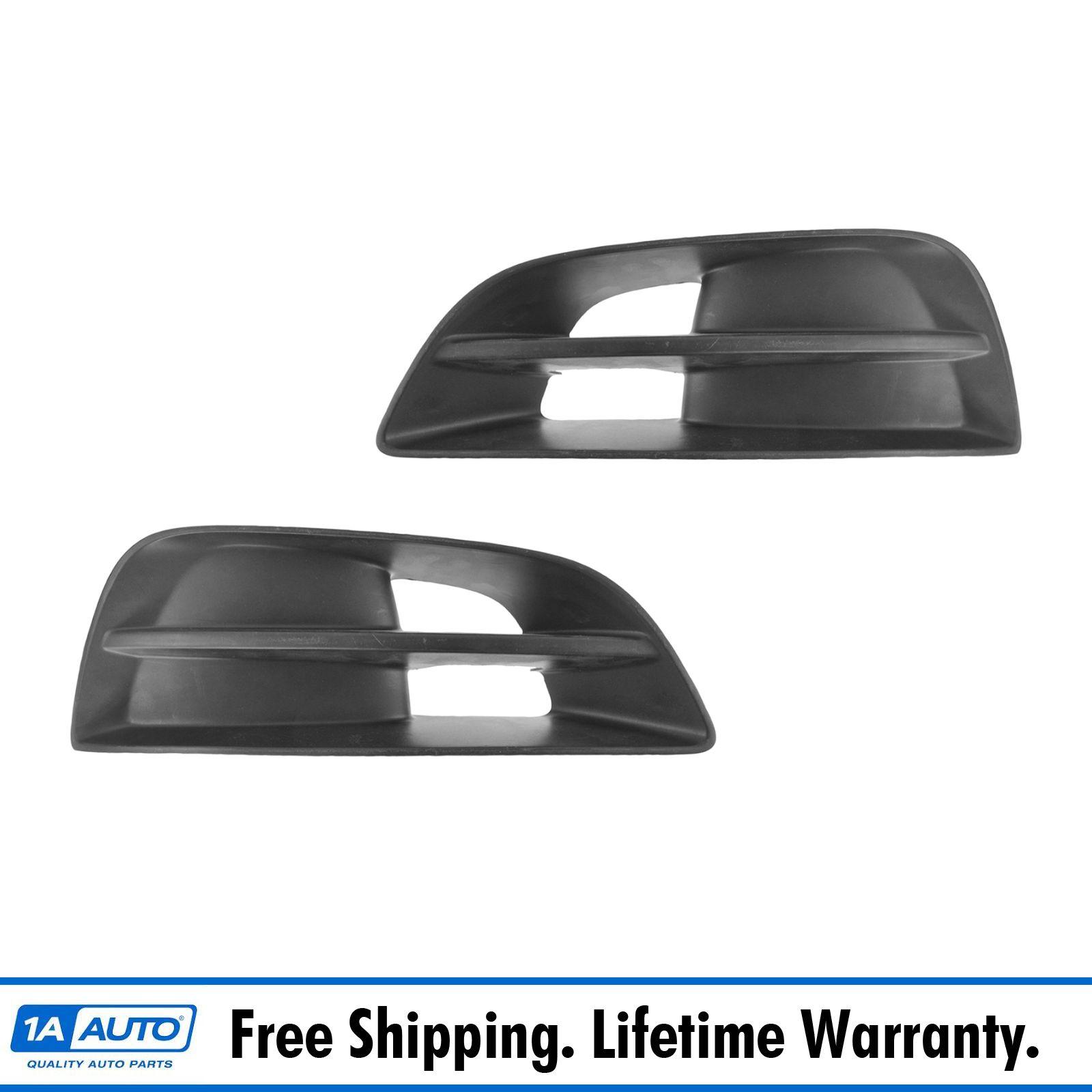 For 2013-2014 Altima Sedan Bumper Insert Fog Light Cover Bezel With Fog Hole Lh