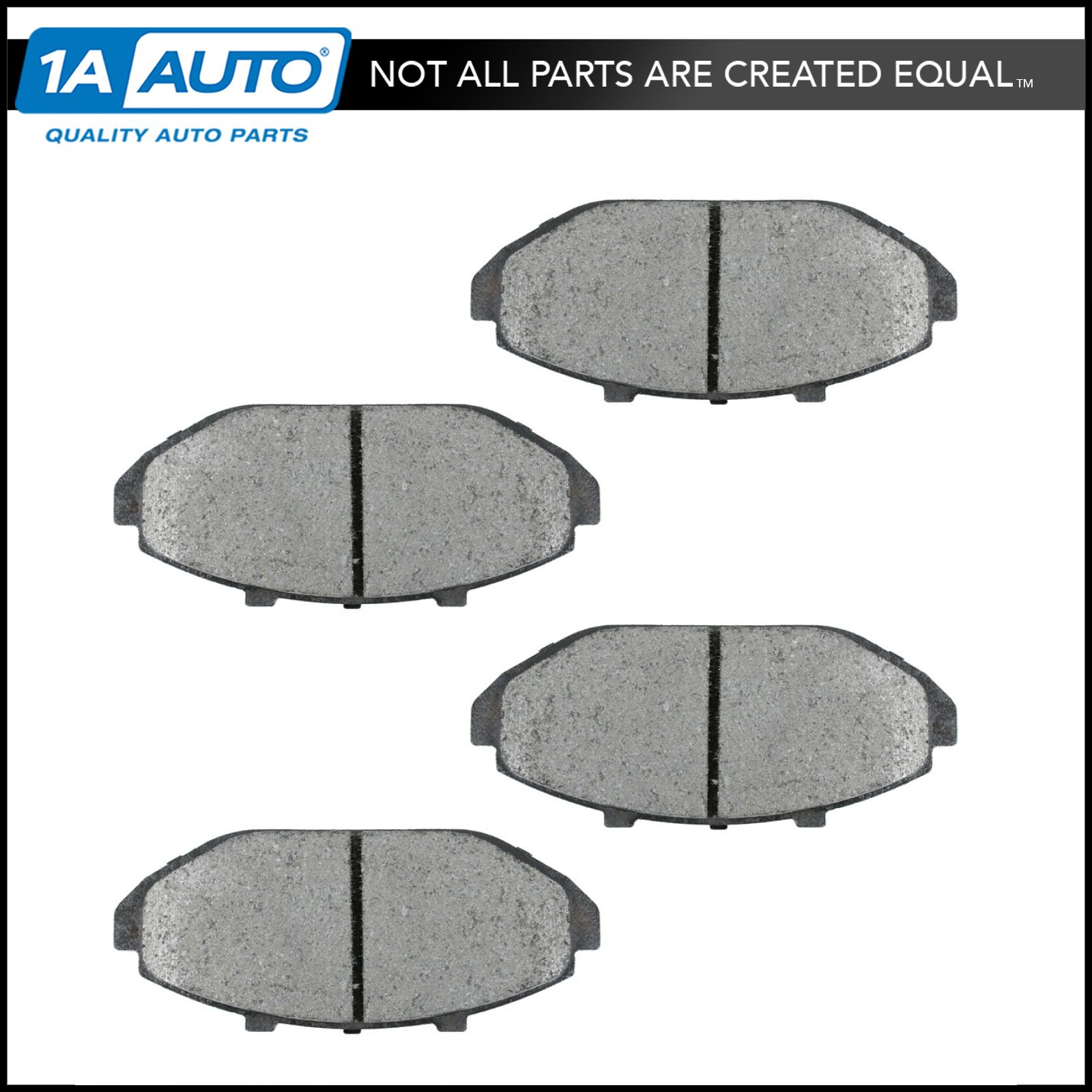 For Crown Victoria,Town Car,Grand Marquis Rear Semi-Metallic Brake Pads