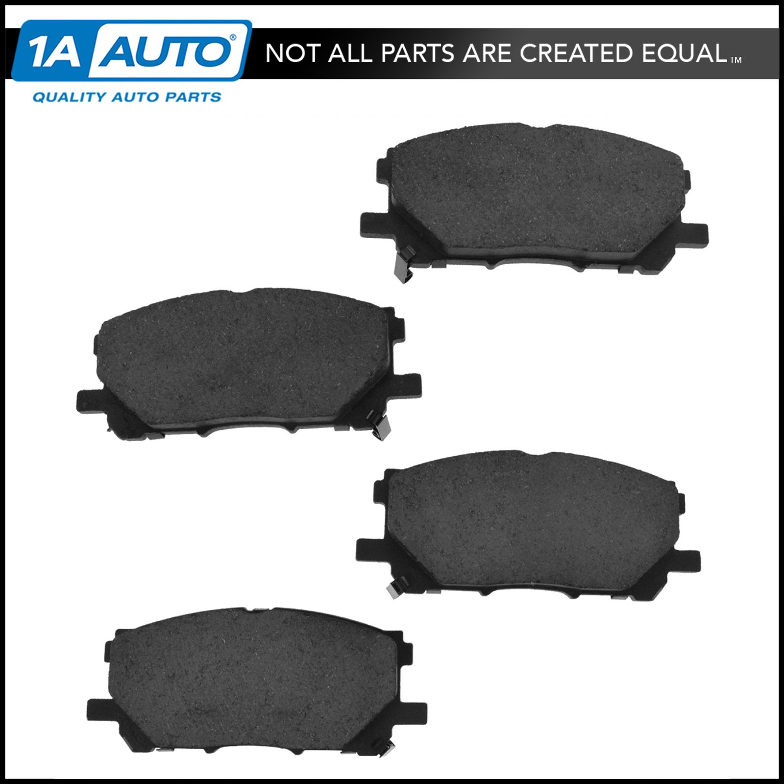 Rear Ceramic Brake Pads w//Hardware for Lexus ES300 Toyota Camry Highlander