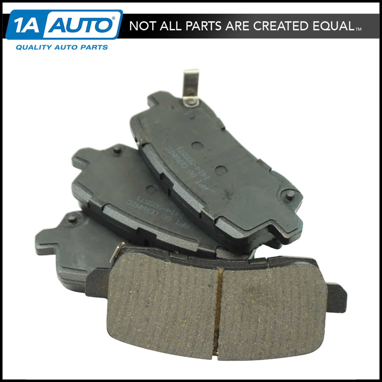Rear Premium Posi Ceramic Disc Brake Pad Set For Acura RLX