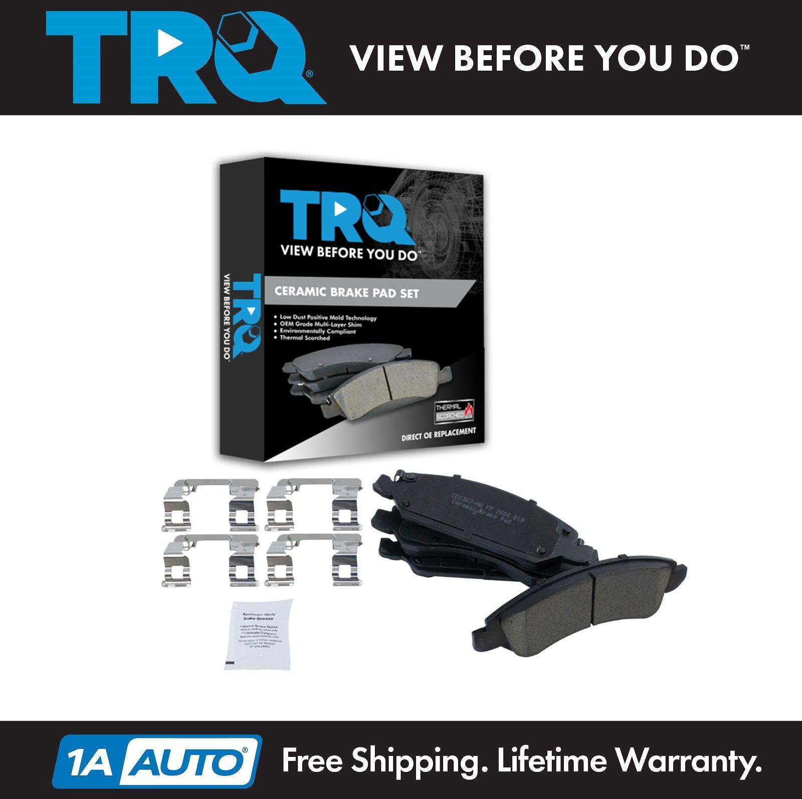 Front Premium Posi Ceramic Disc Brake Pad Set Left LH /& Right RH for GM