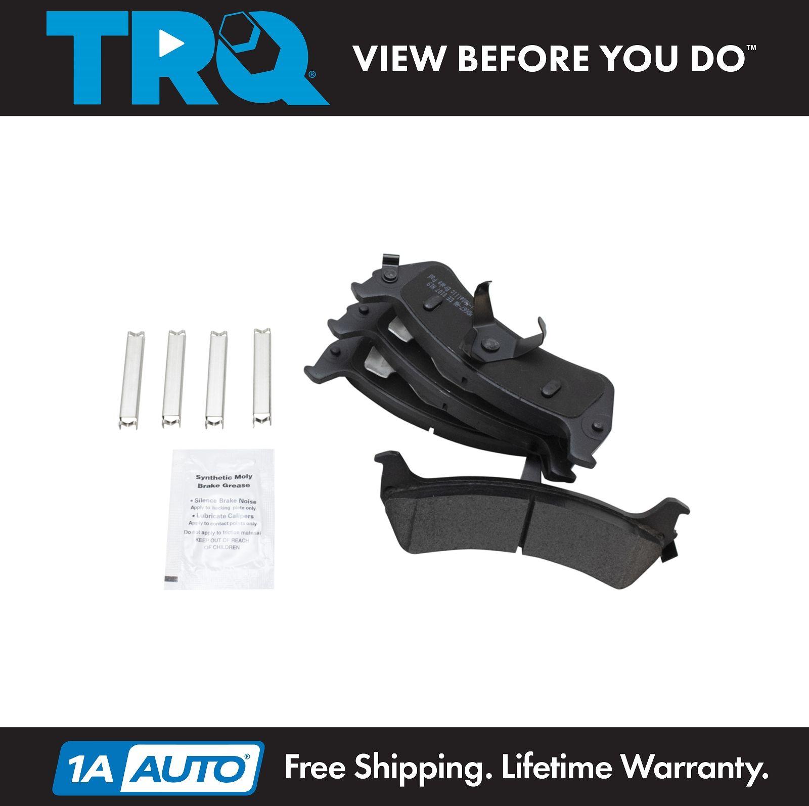Front /& Rear Posi Ceramic Brake Pad Kit for Ford Explorer Sport Trac