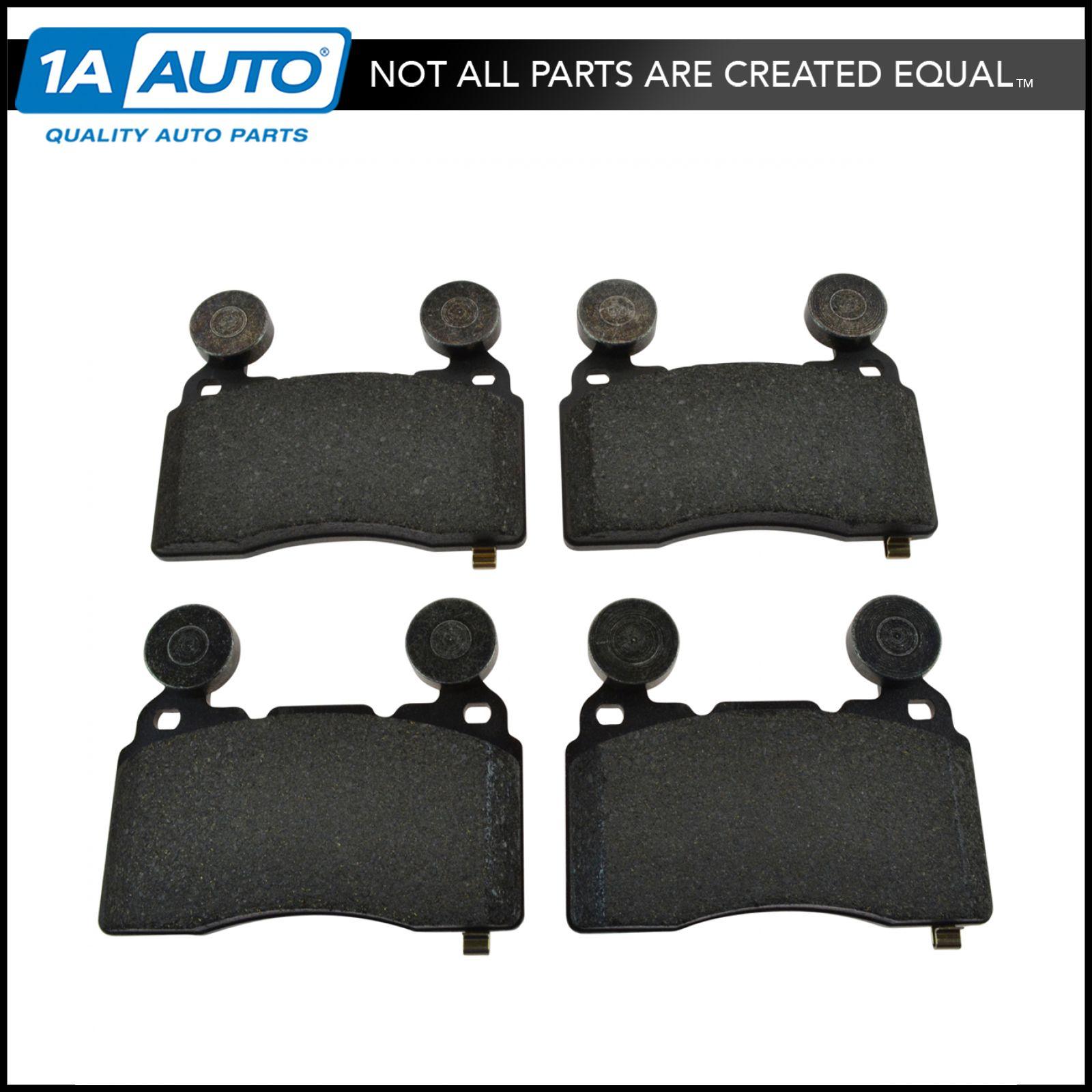 Front Metallic Brake Pads /& 2 Discs Rotors Set Kit for Camaro SS Regal Turbo
