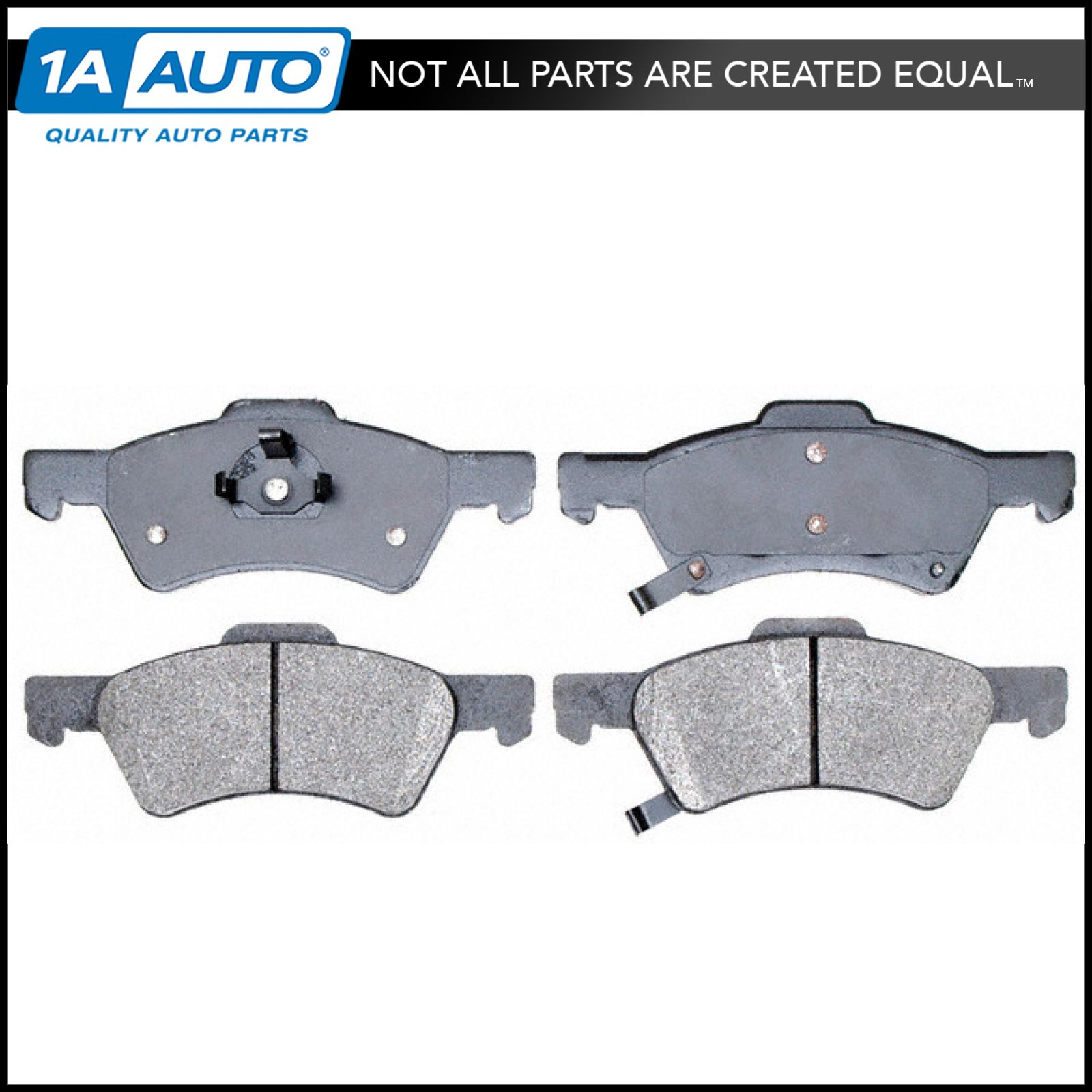 Brake Pads Premium Posi Semi-Metallic Front for Dodge Caravan