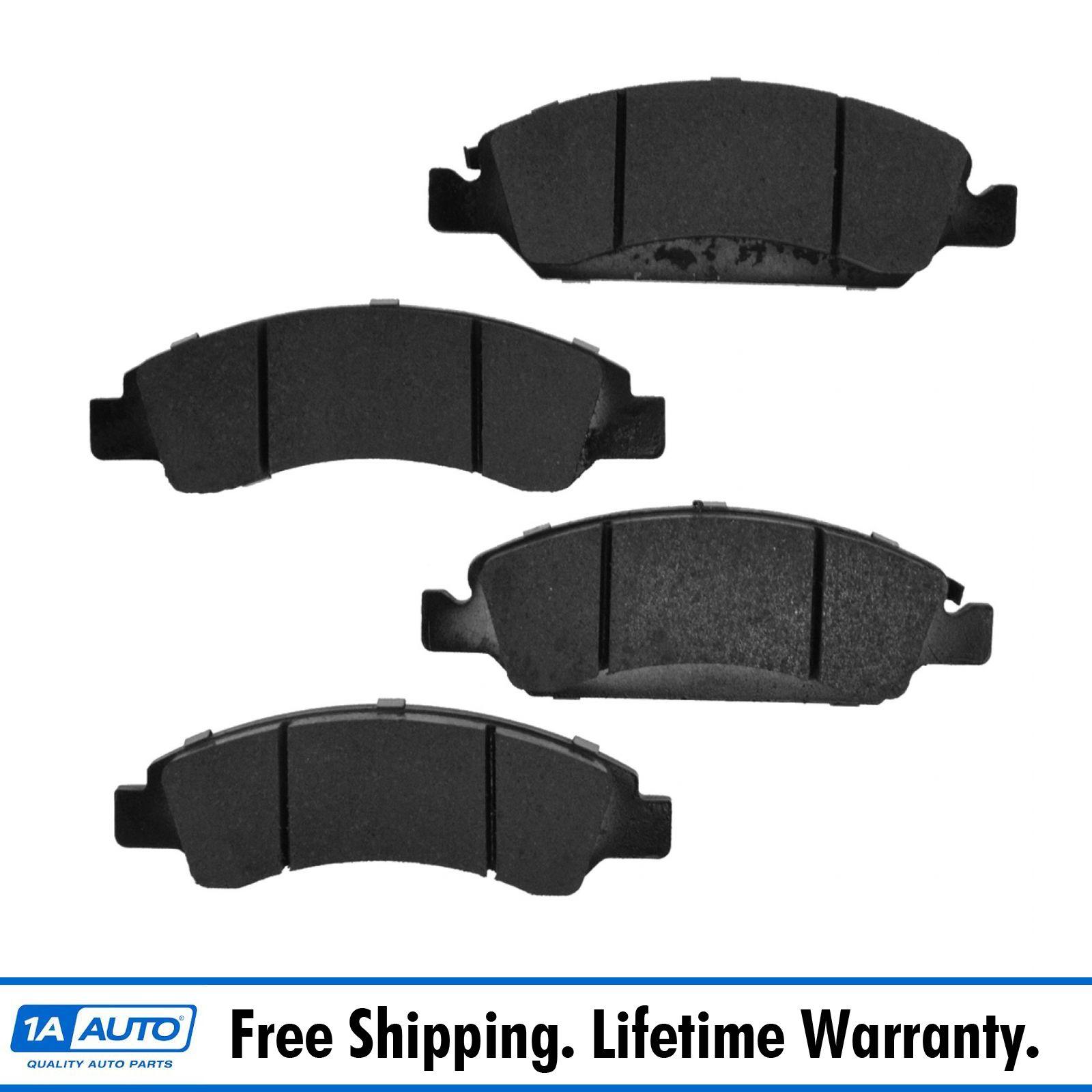 Disc Brake Pads Set Kit Ceramic Rear for Cadillac Chevy GMC SUV Van NEW