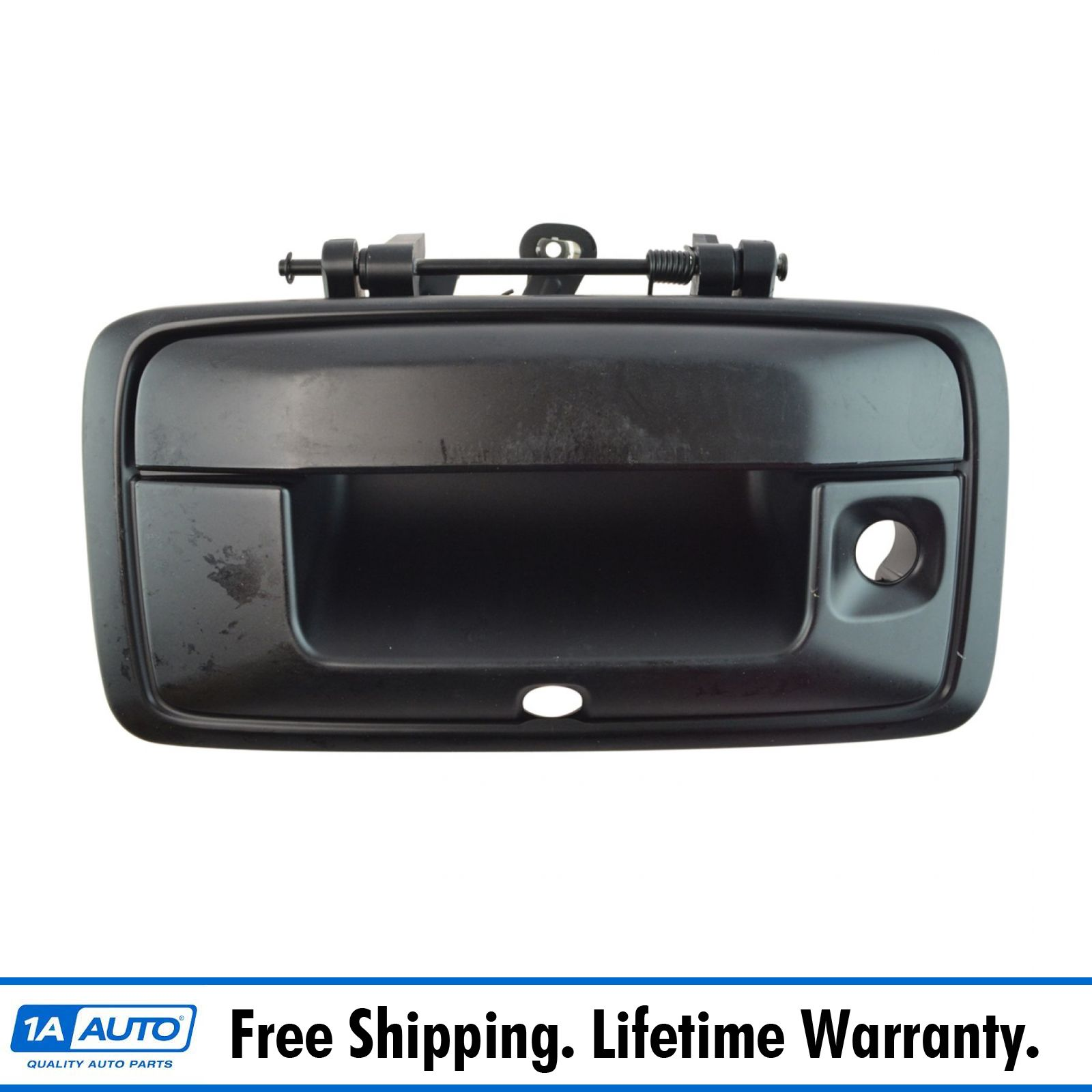 Textured Black Tailgate Handle PT Auto Warehouse TO-3244A-TG