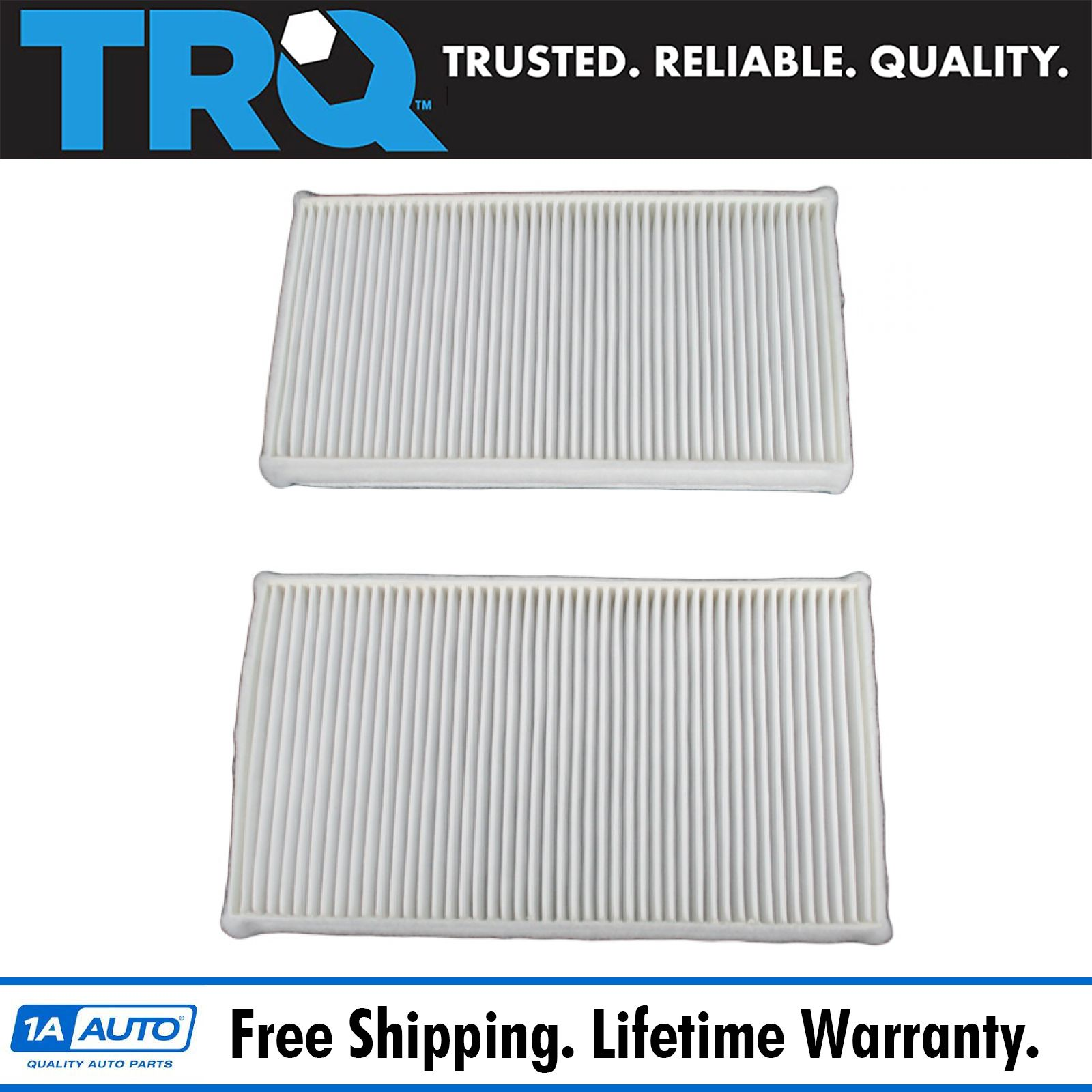 AC Delco CF104 Cabin Air Filter Pair Set of 2 for Chevy GMC Cadillac Truck SUV