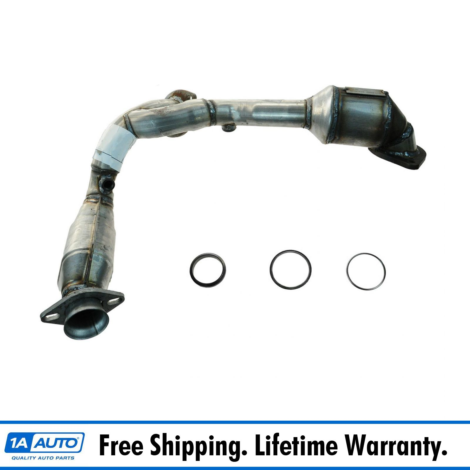 Dual Catalytic Converter Exhaust Y Pipe For Taurus Sable