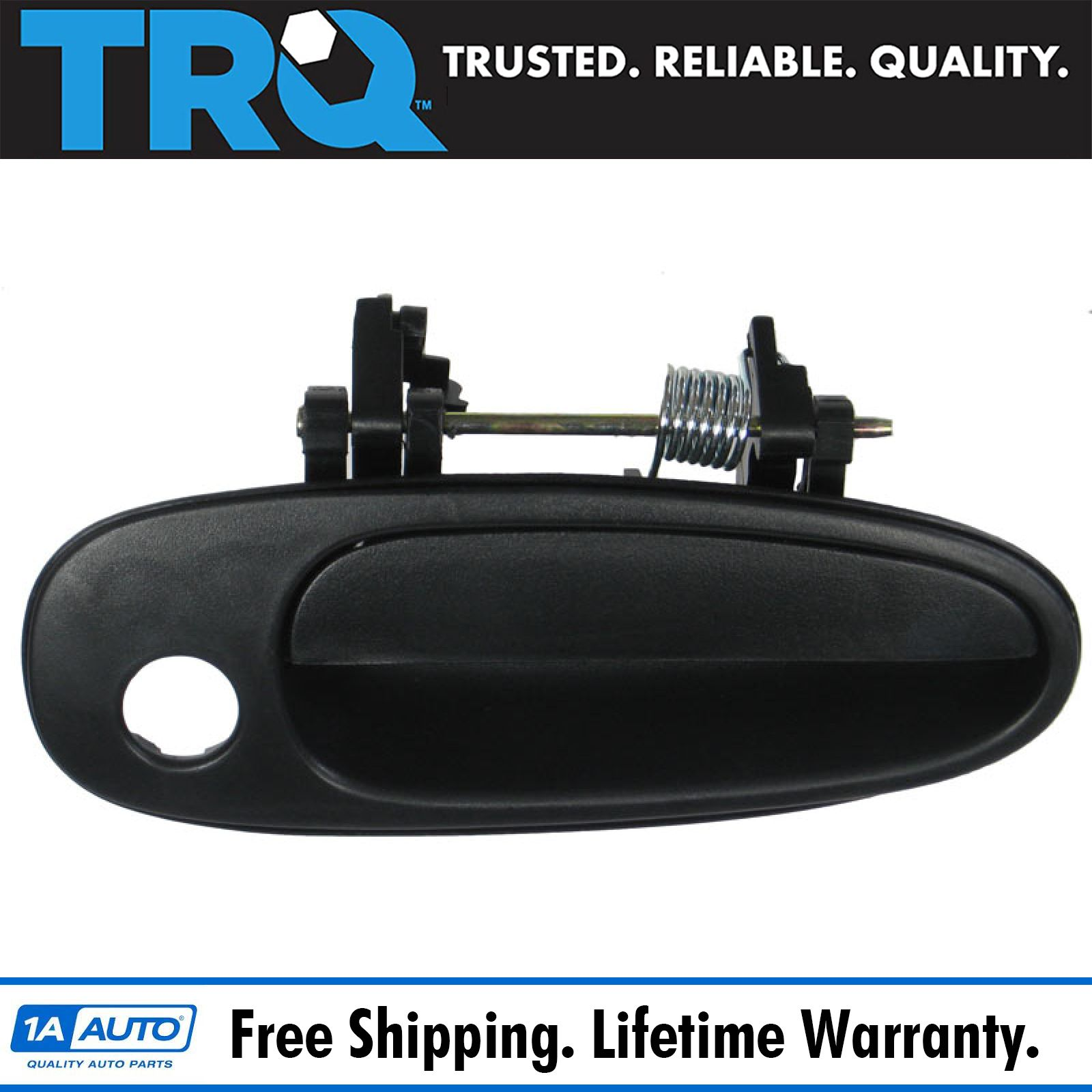 for Ford F Pickup Outside Outer Exterior Door Handle Rear LH RH Pair Textured