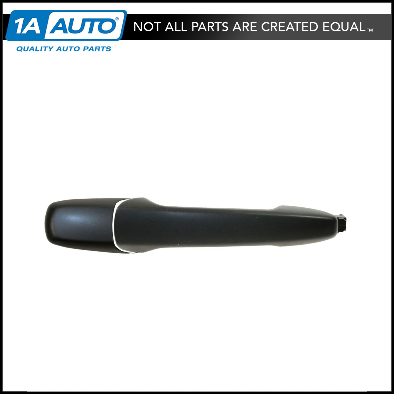 Front Outside Smooth Black Door Handle /& Keyhole Left LH for Edge MKX Flex