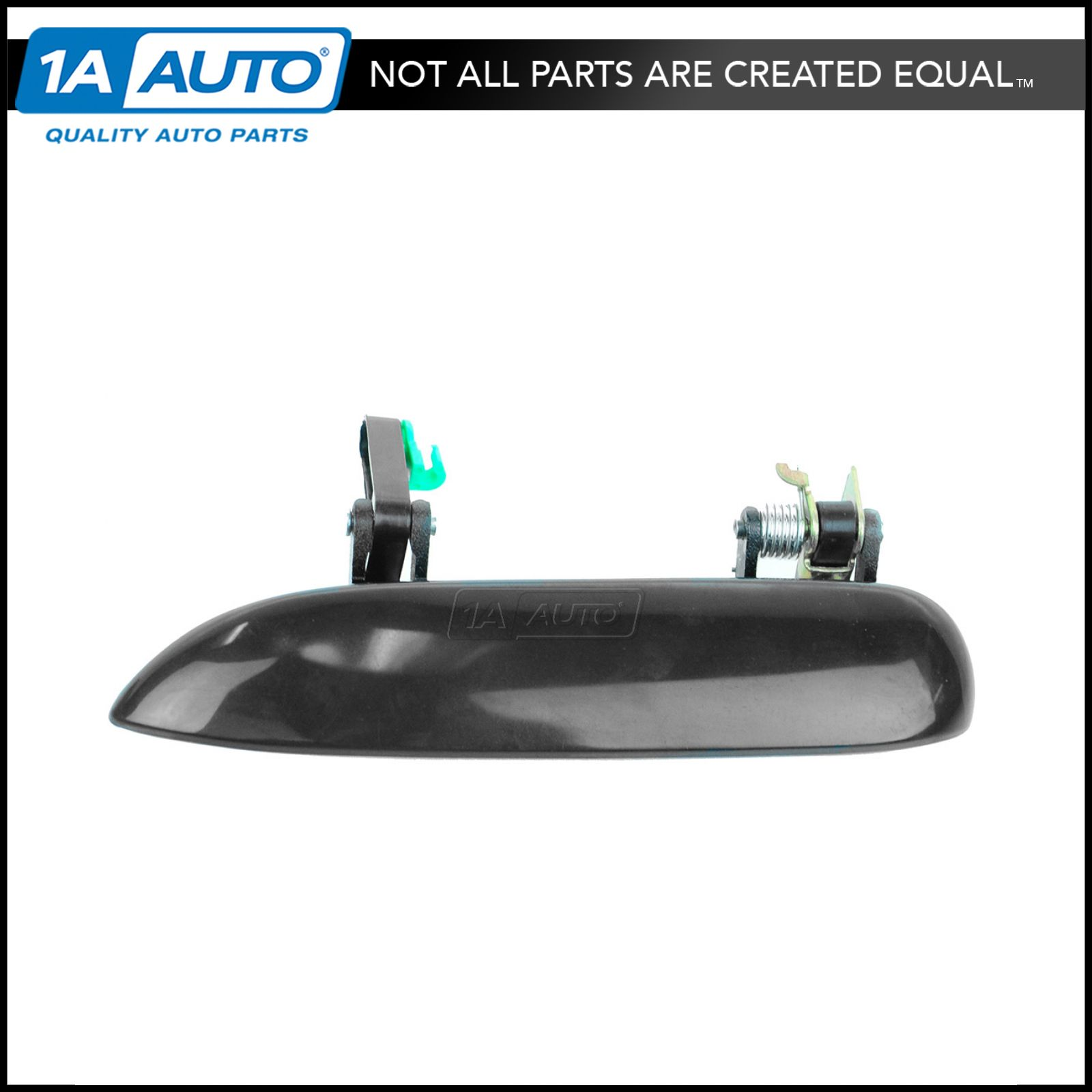 Outside Door Handle Smooth Black Rear Left Driver Exterior