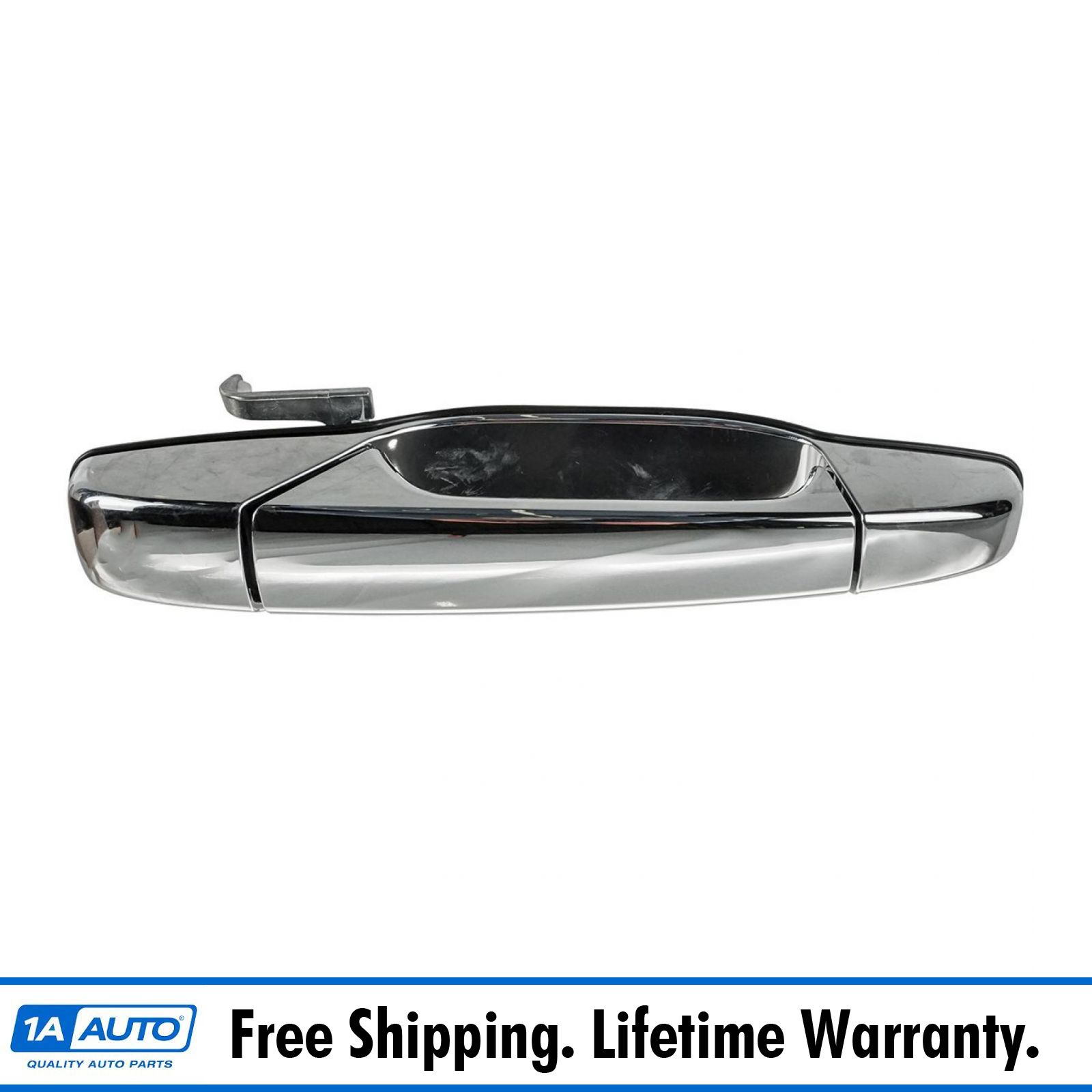 Chrome Metal Outside Door Handle Front Right Passenger Exterior