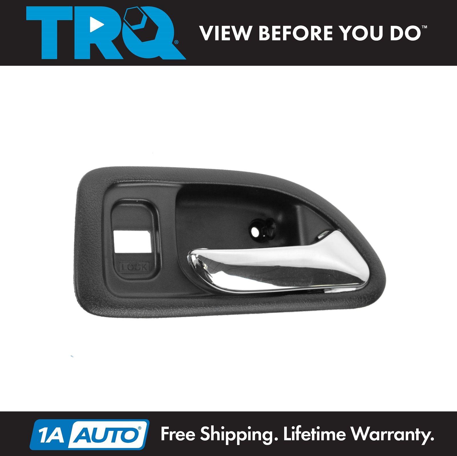 Inside Interior Door Handle Black Chrome Front Right Rh For 94 97 Accord 4 Door Ebay