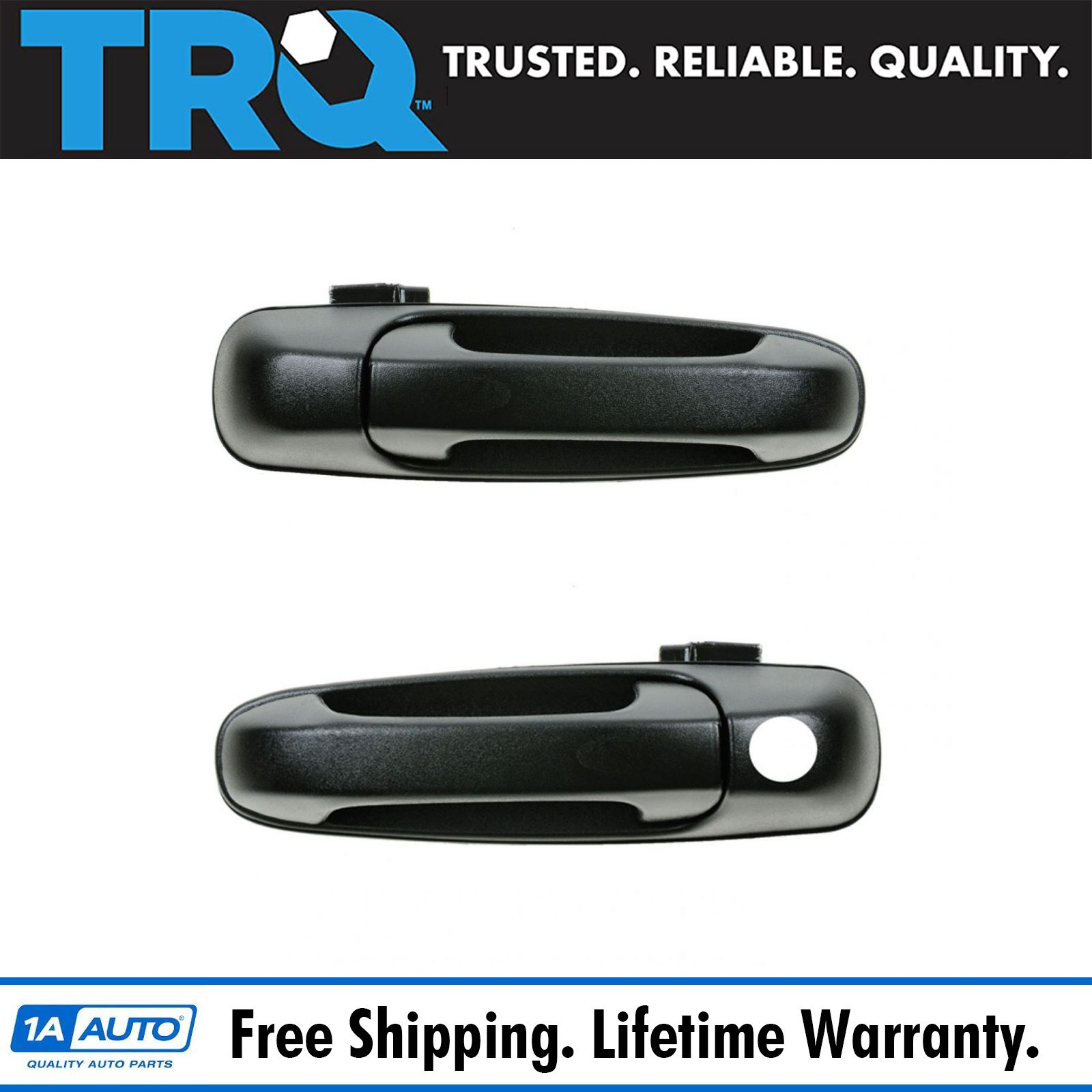 for Dodge Ram Mitsubishi Outside Exterior Door Handle Passenger Front RH Smooth
