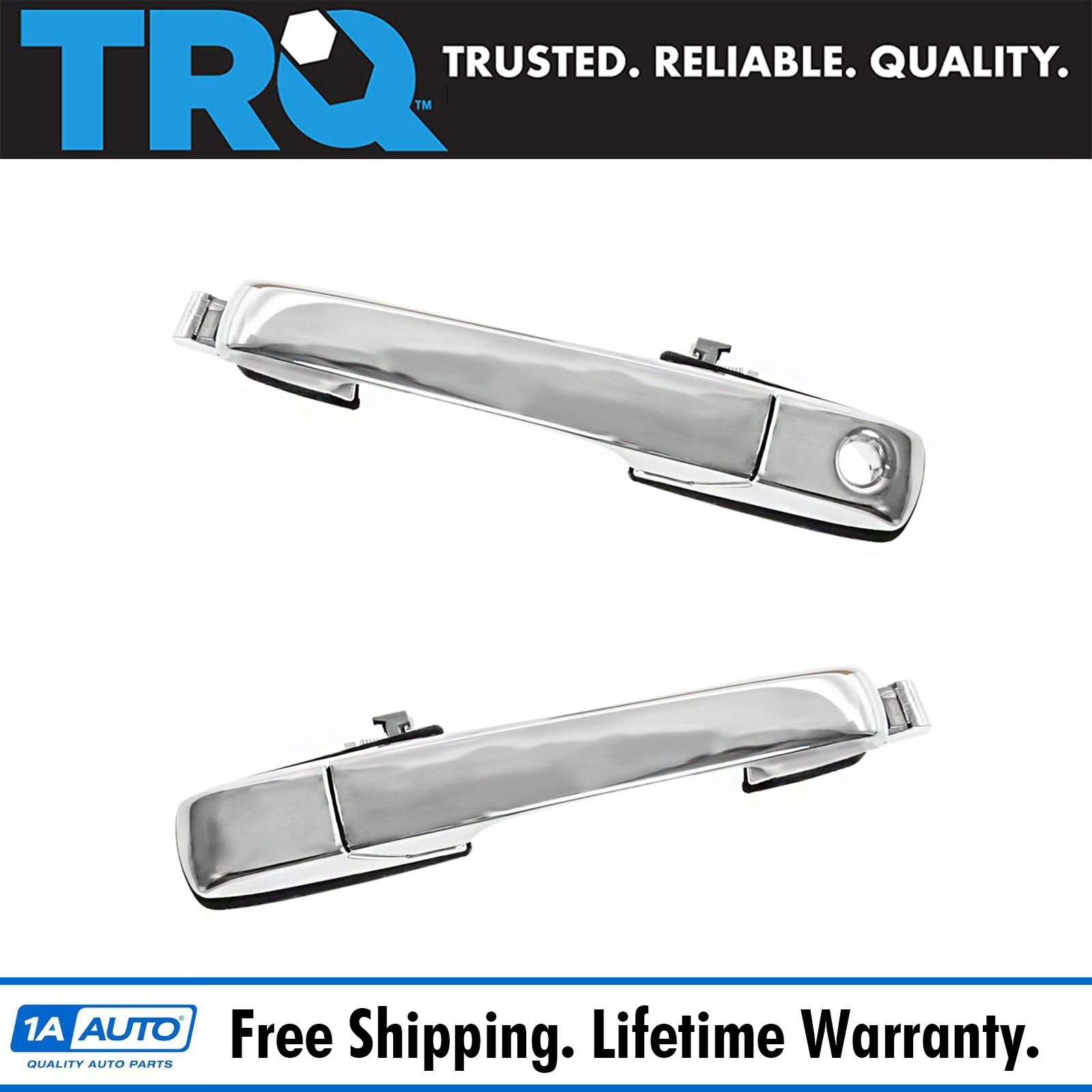 FOR 2001-06 ACURA MDX NEW Chrome Exterior Outside Door Handle LH REAR