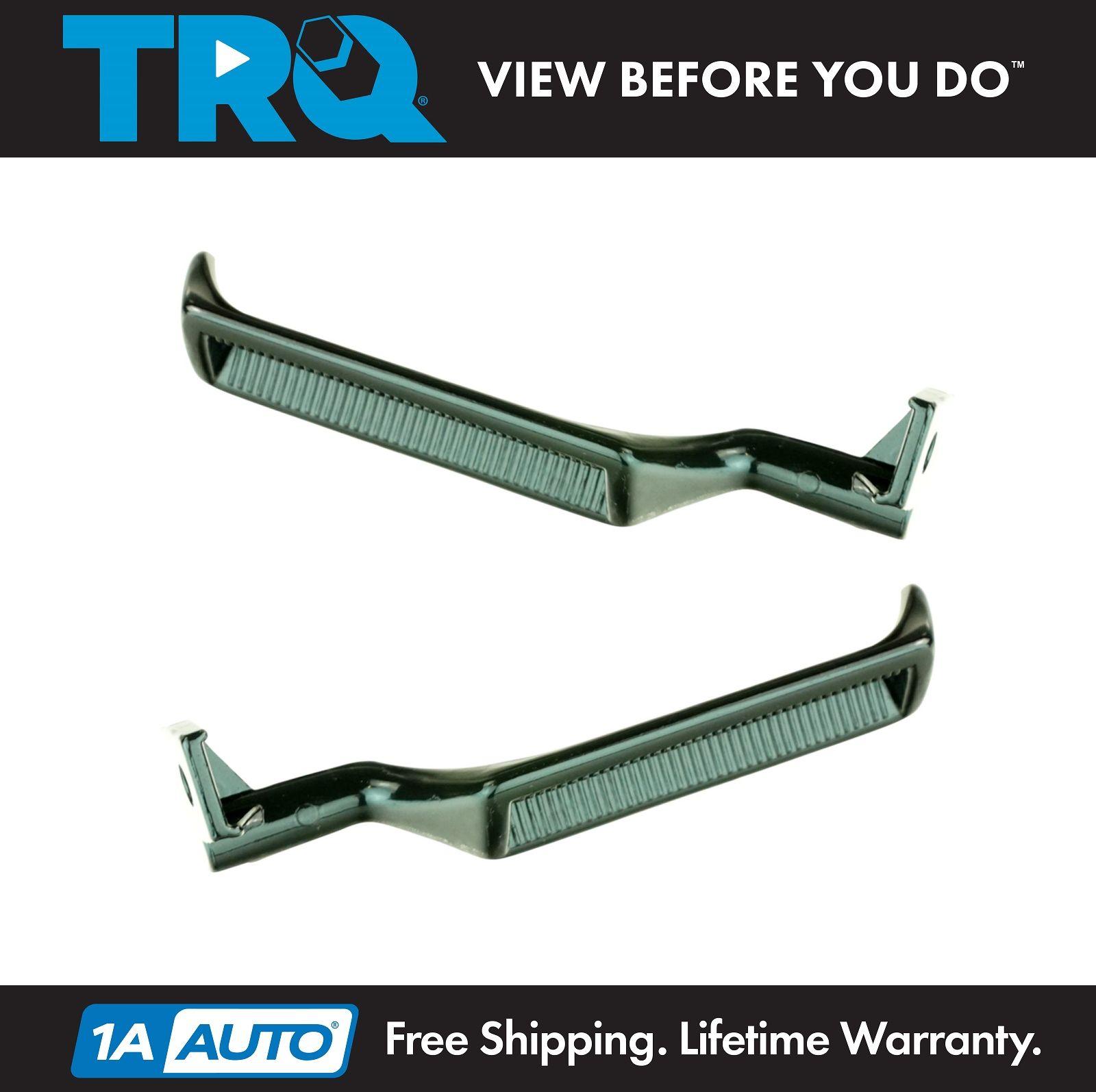 TRQ Door Handle Black Metal Inner Set for Ford Bronco F150 F250 F350 F800 F53