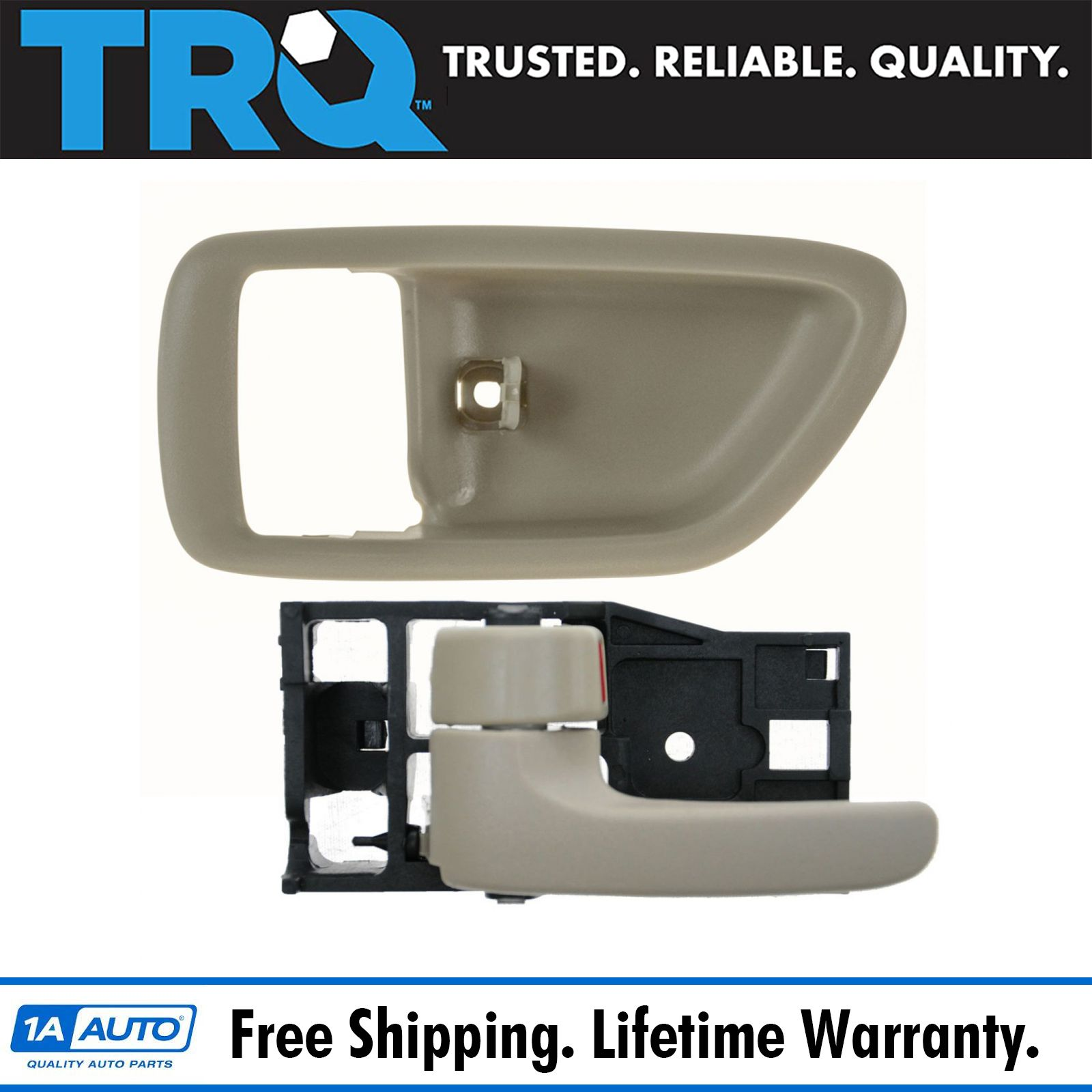 Front Right Inside Door Handle Tan for 00-06 Toyota Tundra Regular Access Cab
