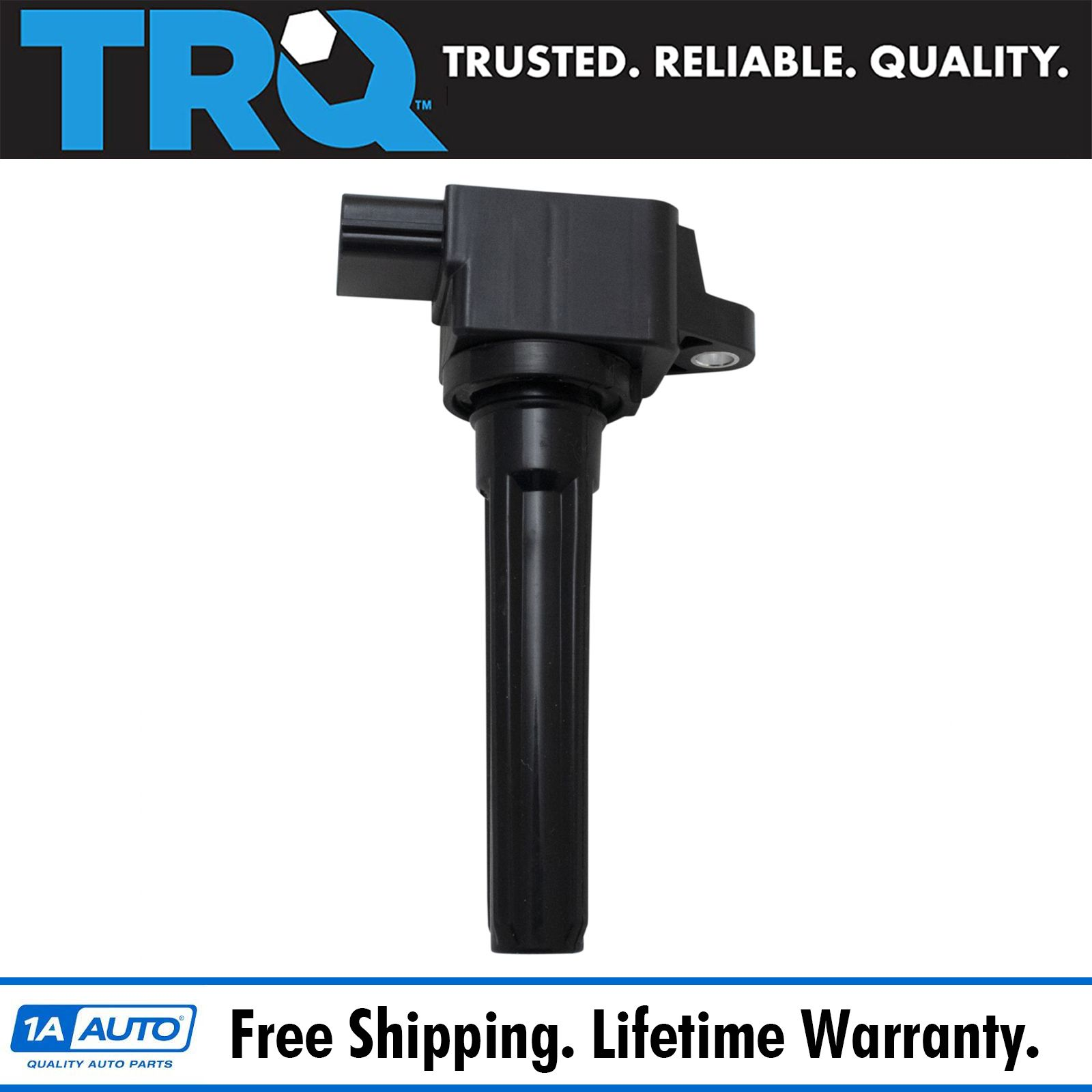 Trq Engine Spark Ignition Coil Direct Fit For Mitsubishi