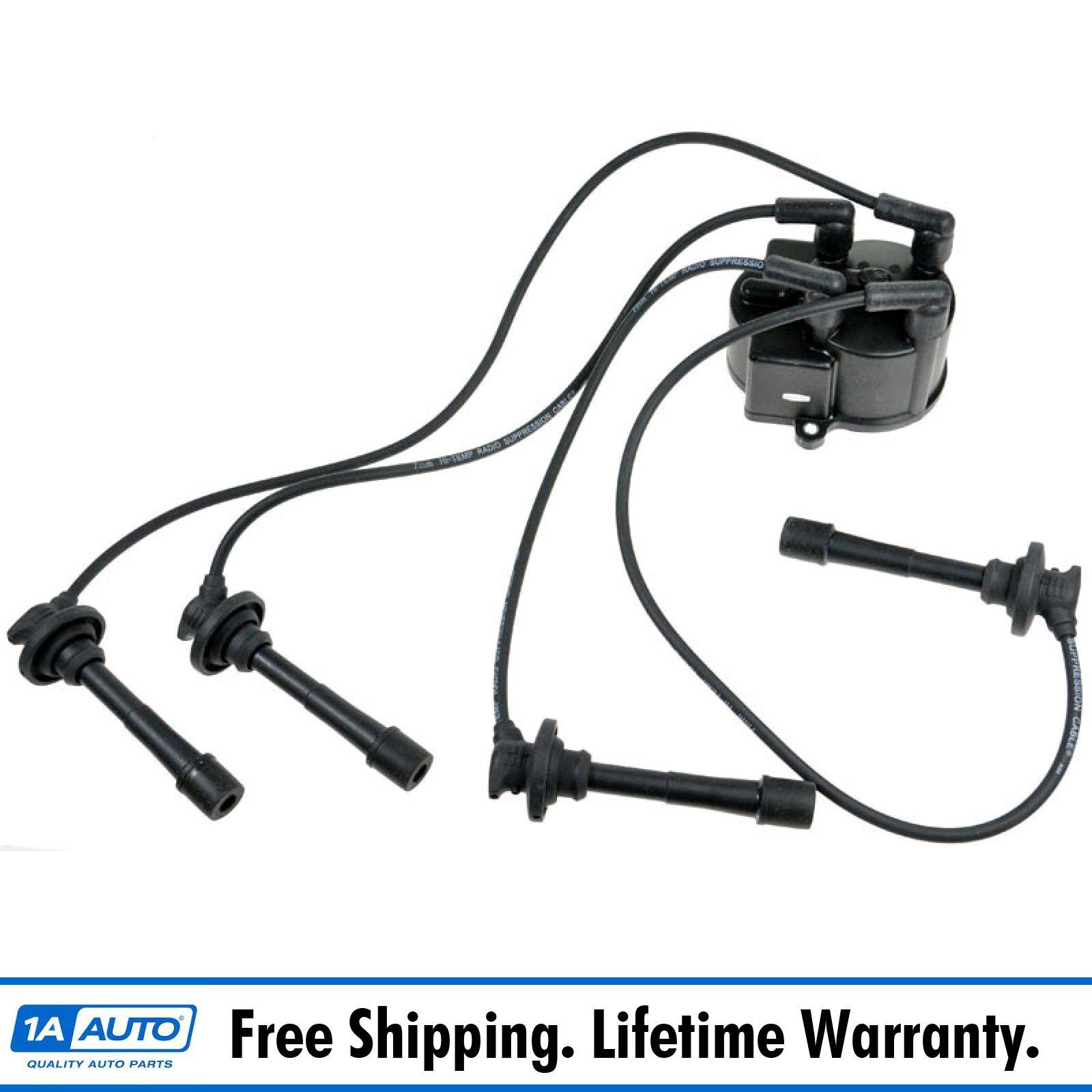 Distributor Cap w/ Spark Plug Wire Set for Corolla 4AFE 1.6L | eBayeBay