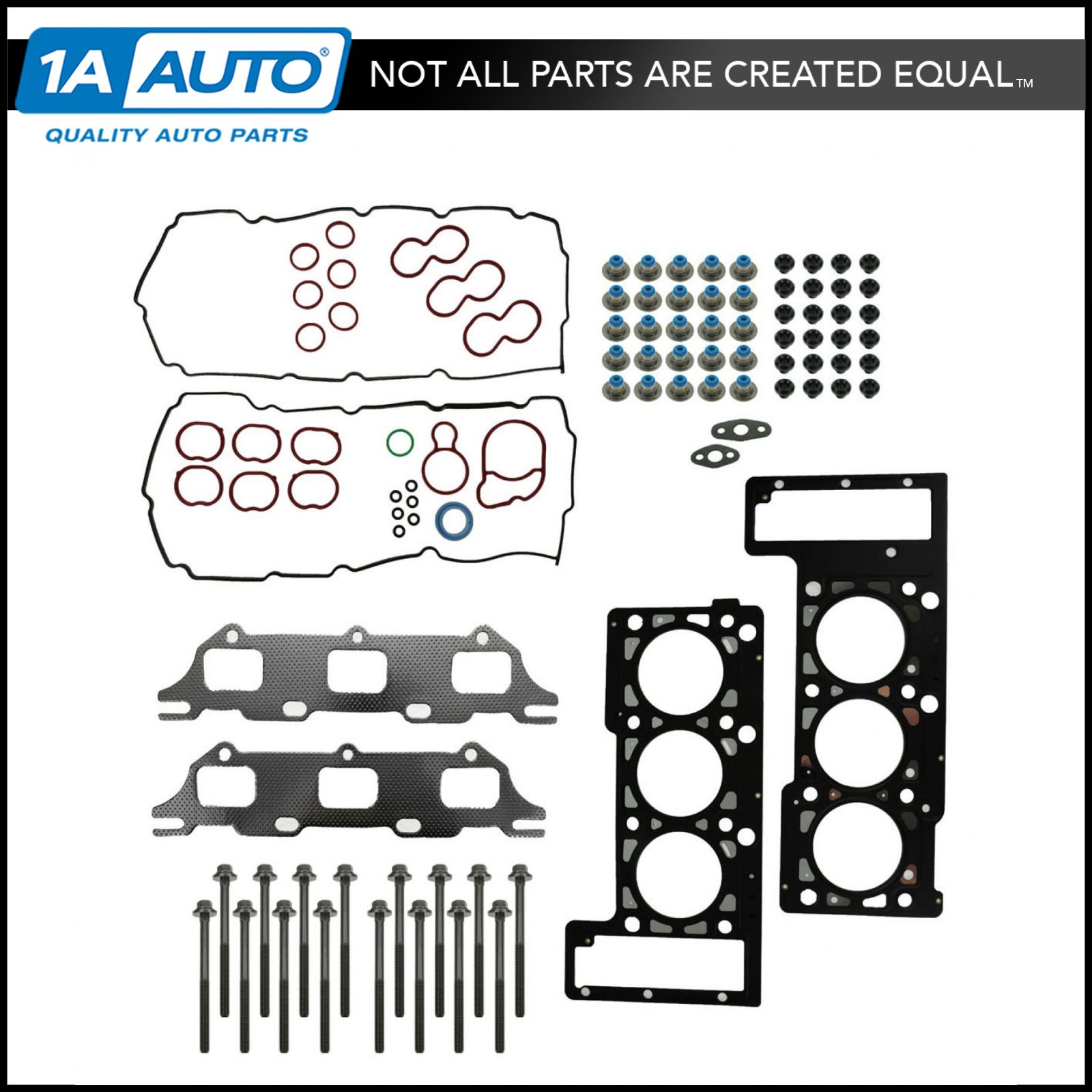 TUPARTS Automotive Head Gasket Head Bolts kit Replacement for Chrysler 300 3.5 L