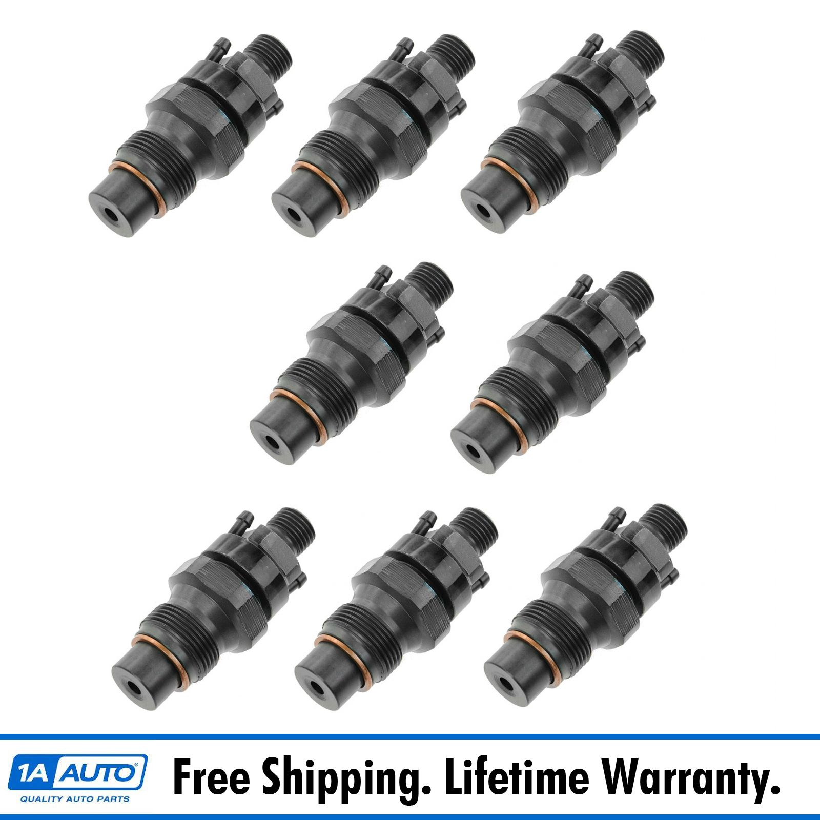 1997 Chevrolet G Series 3500 Camshaft: Fuel Injector Set Of 8 Kit For Chevy GMC Pickup Truck Van