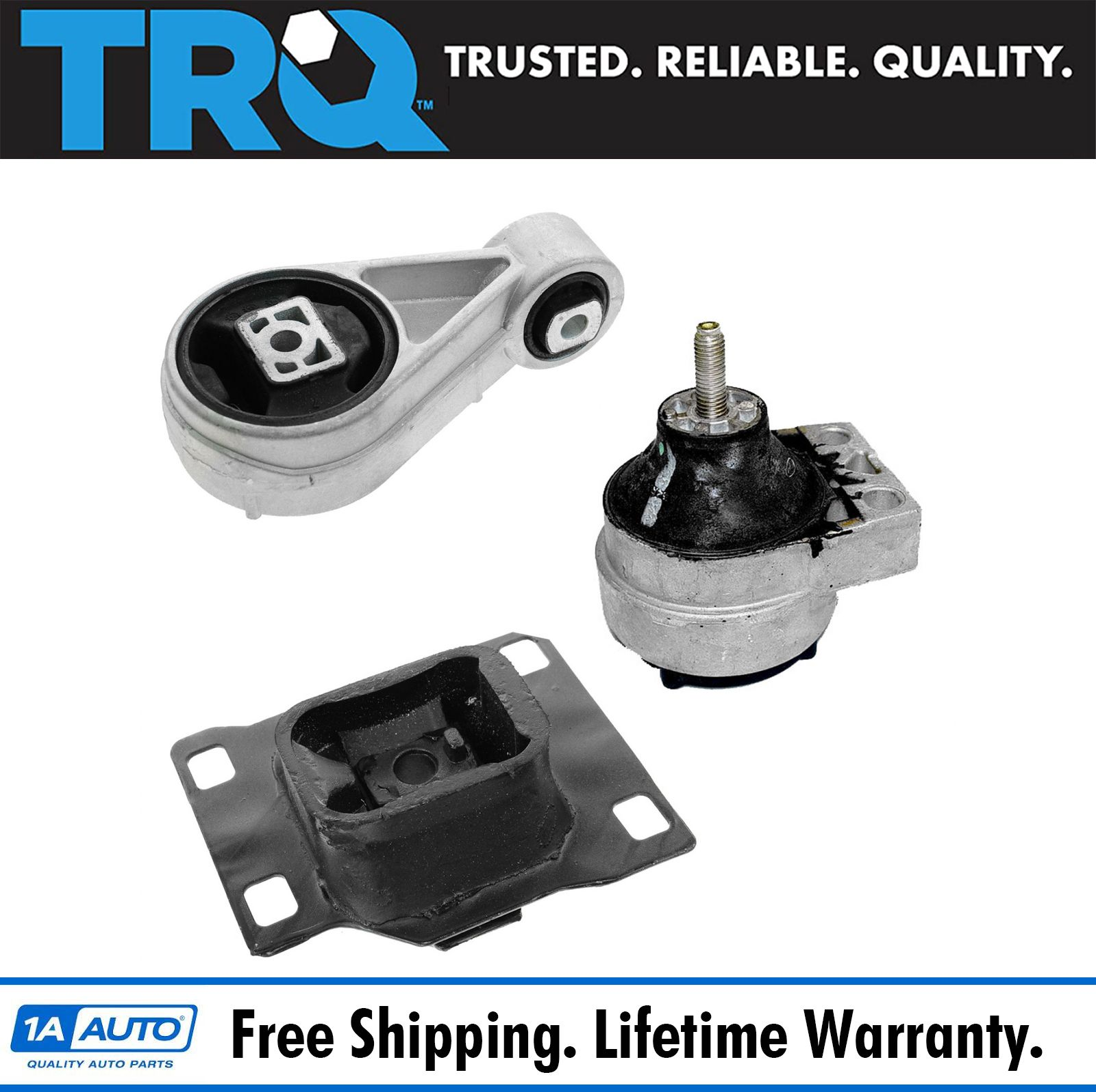 Engine Motor /& Trans Mount Complete Set 3PCS For 2000-2001 FORD FOCUS L4 2.0L