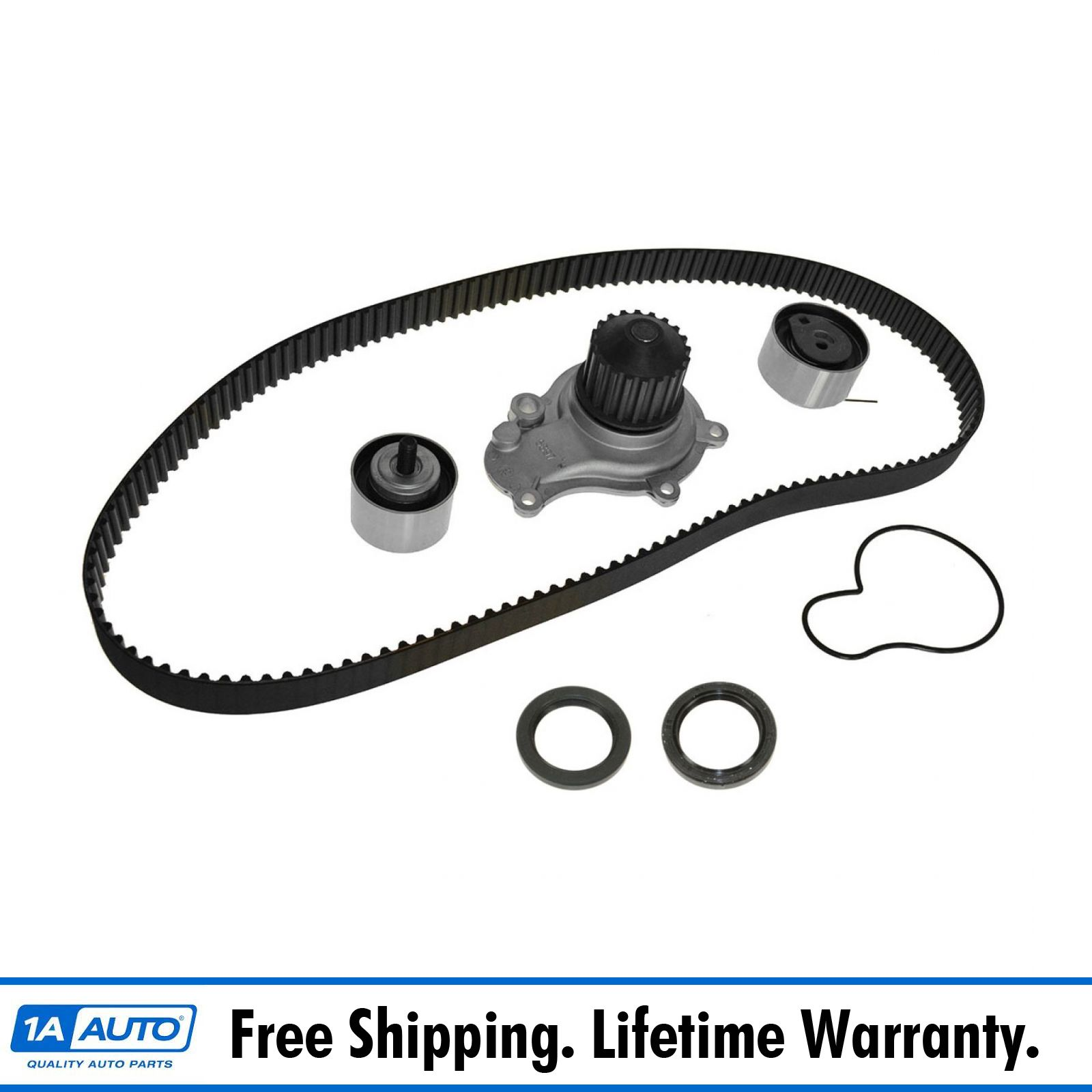 Engine Timing Belt Kit with Water Pump Gates TCKWP265A