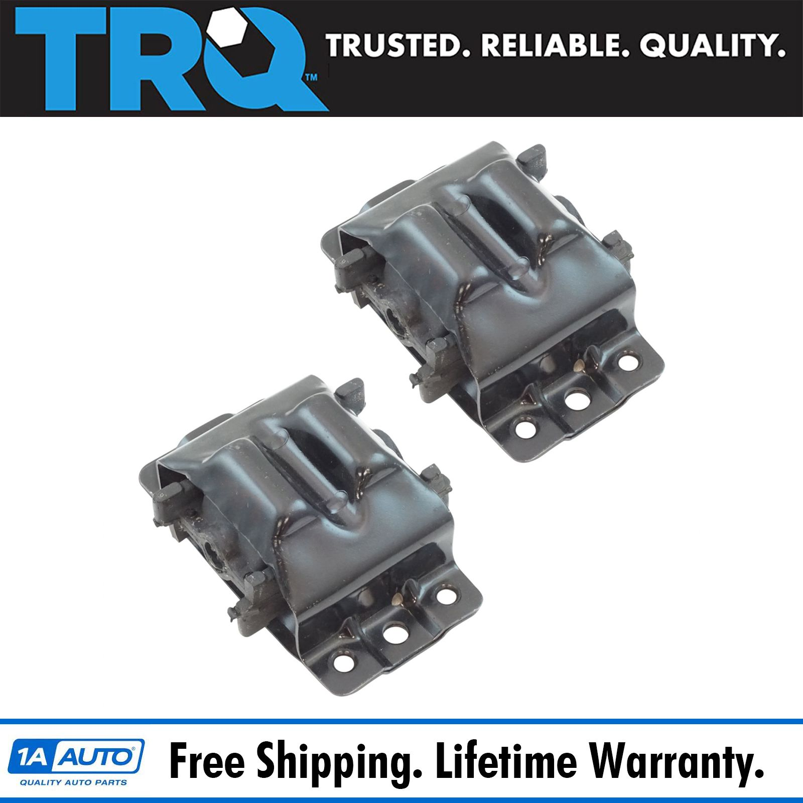 Engine Mount w// Bracket Front LH RH Pair Set for Cadillac Chevy GMC Pickup SUV