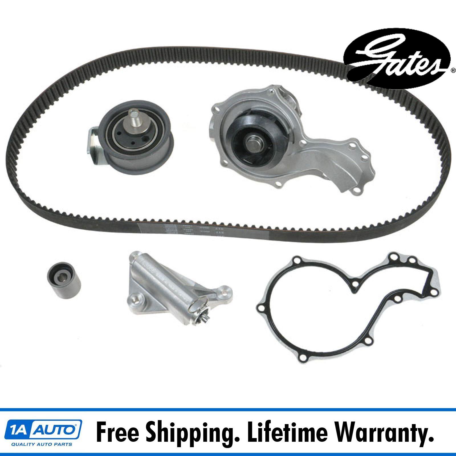 AUDI S3 8L 1.8 Timing Belt /& Water Pump Kit 99 to 03 Set Gates Quality New