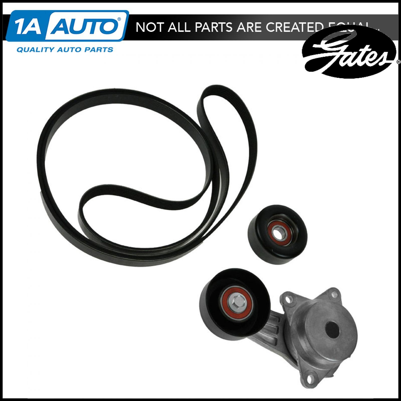 Gates 38408k Belt Idler Tensioner Solutions Kit For 03 05 Mazda 6 2002 626 Mazda6 23