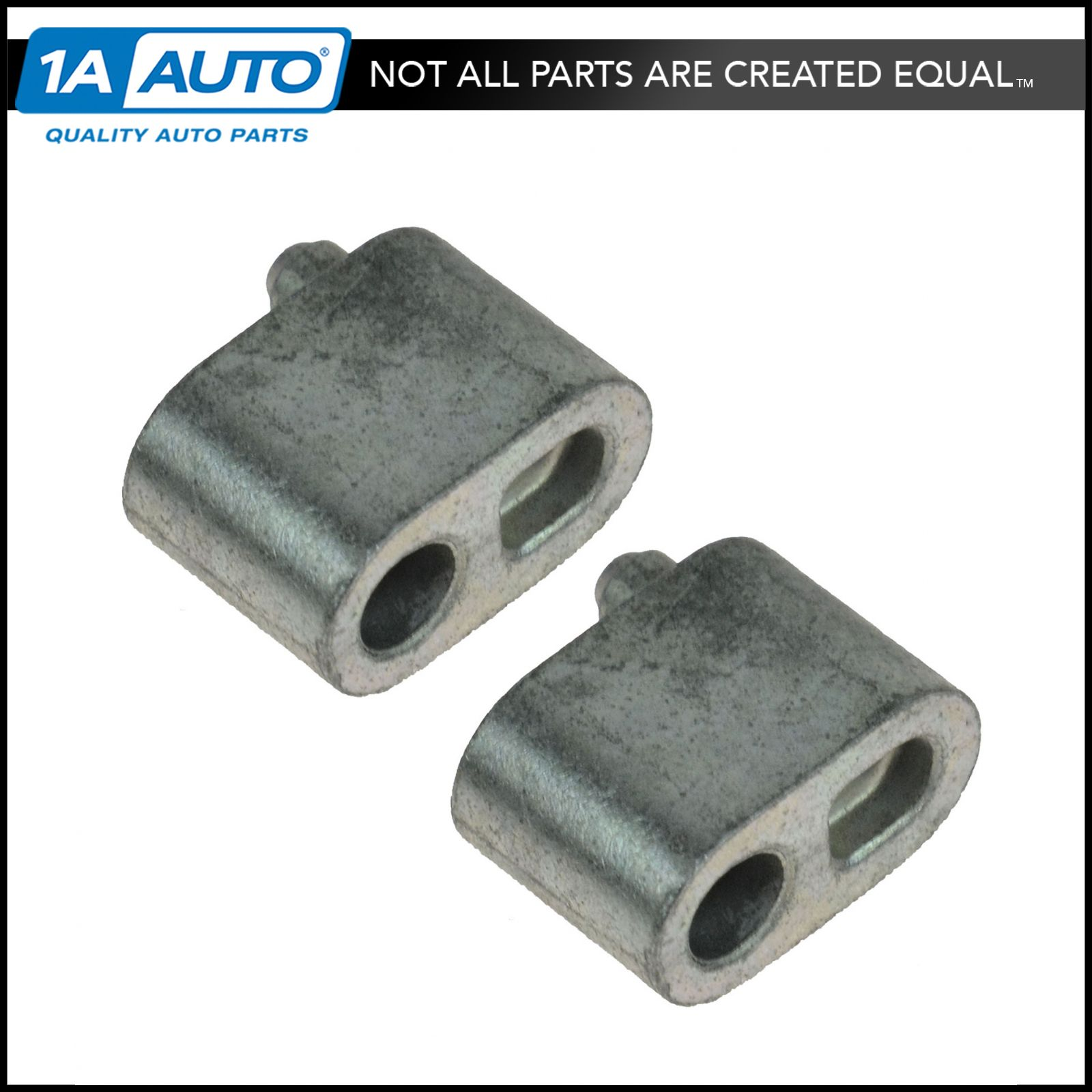Engine Coolant Block Off Bypass Plug Pair for Buick Cadillac Chevy Pontiac