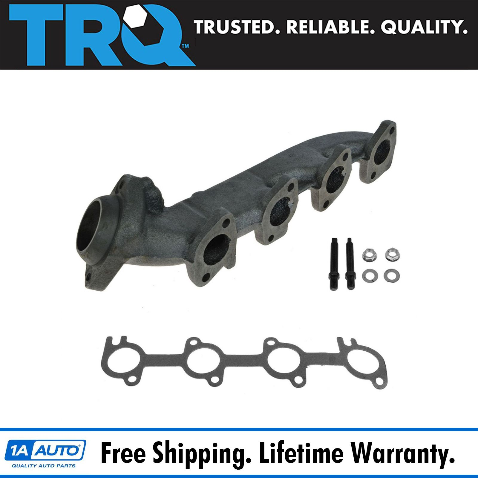 Exhaust Manifold Passenger Side Right RH NEW For Ford