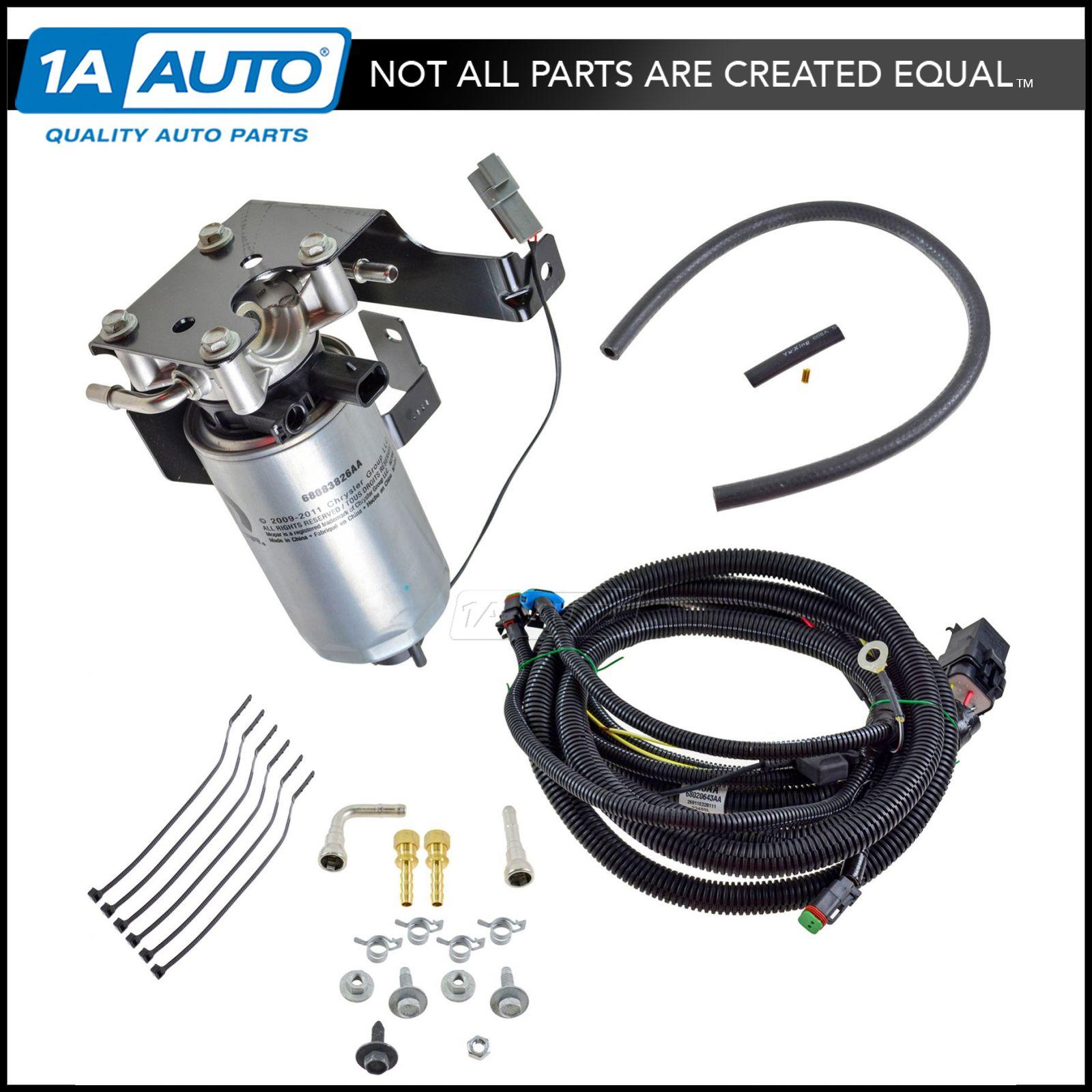 Oem Severe Duty Add On Fuel Filter System Kit For Dodge Ram 67l 2004 Diesel Location New