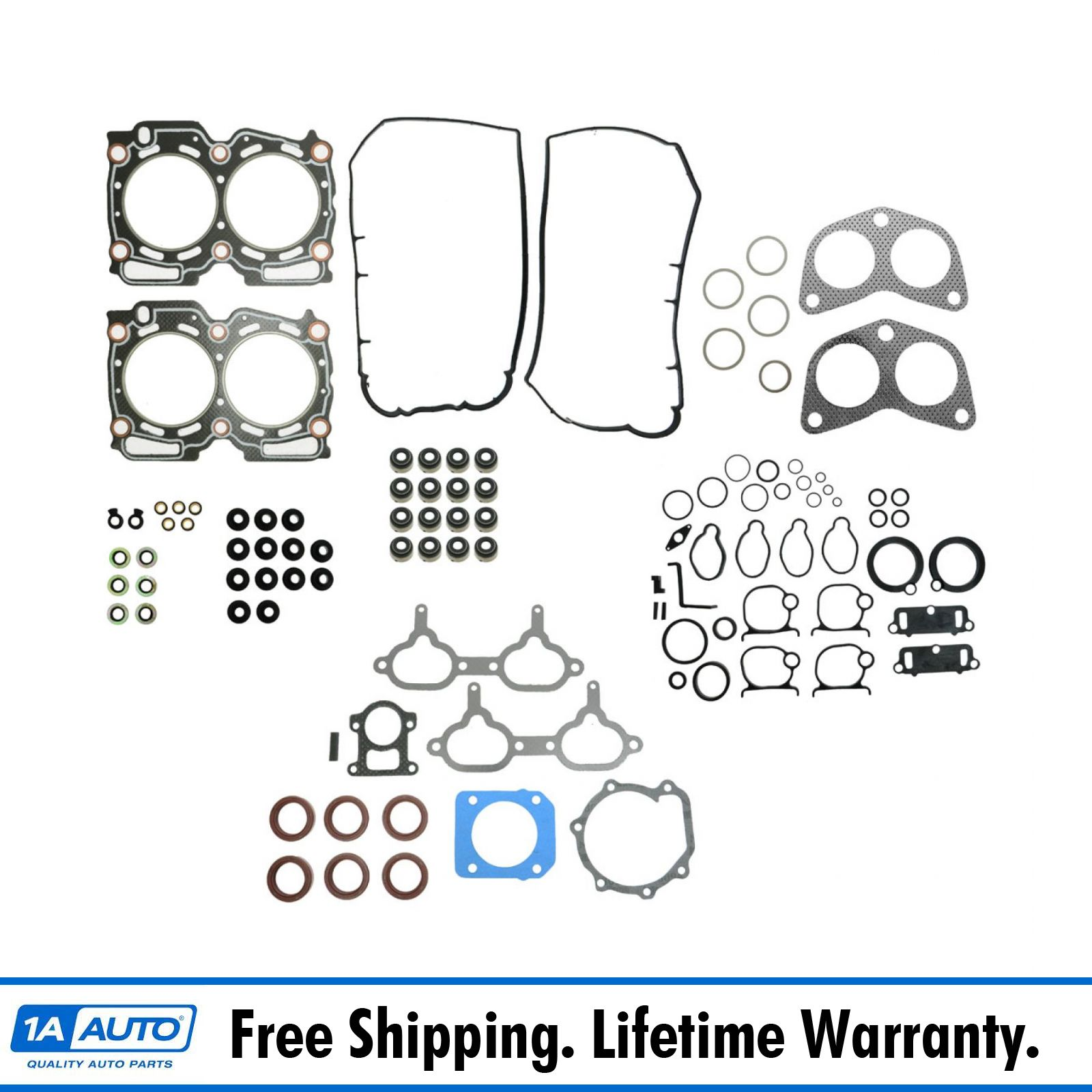 engine head manifold gasket set kit for impreza legacy