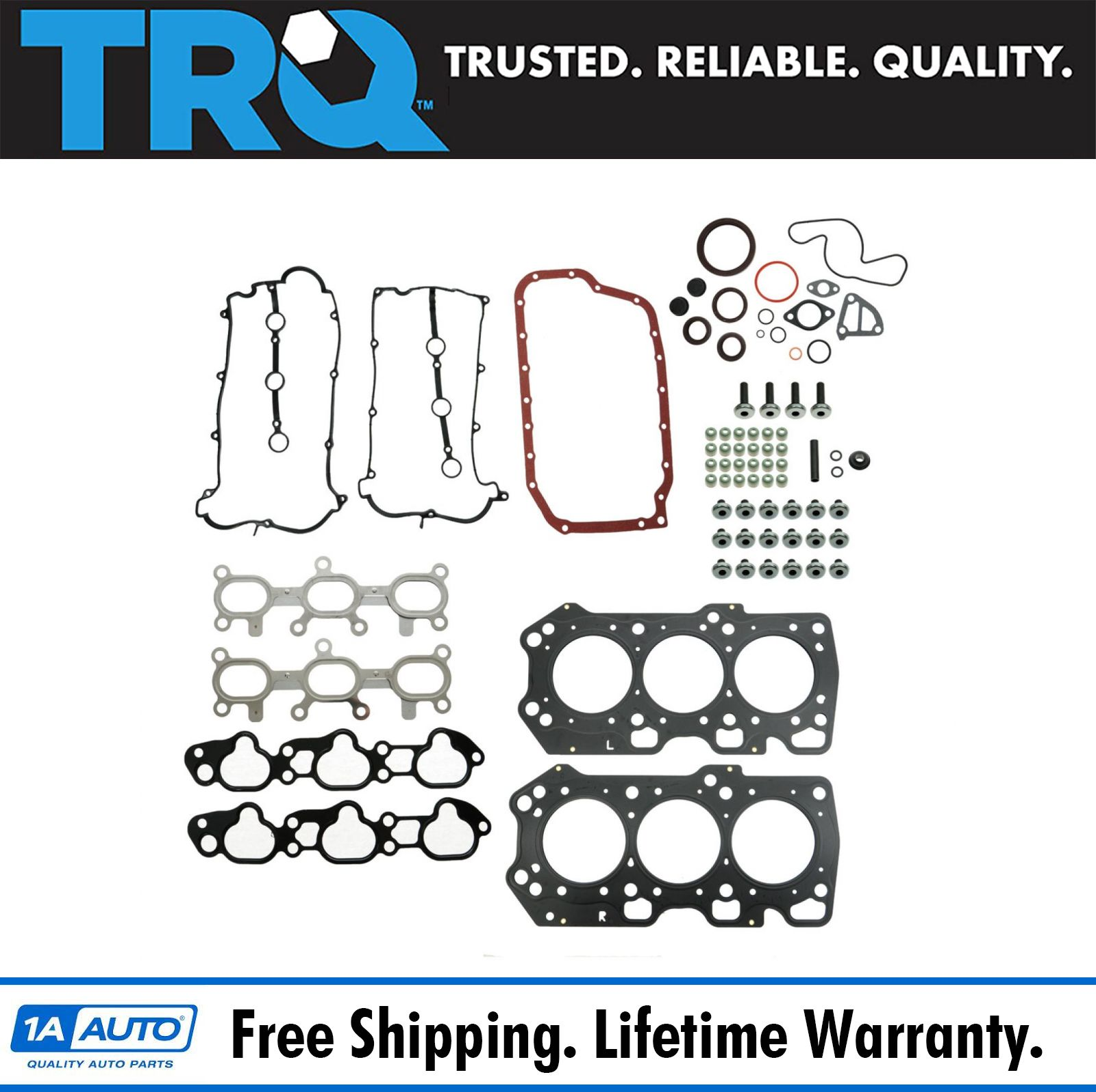 TOPLINE CGSVW17L Engine Kit Full Gasket Set for Volkswagen VW 2.0 2010-15